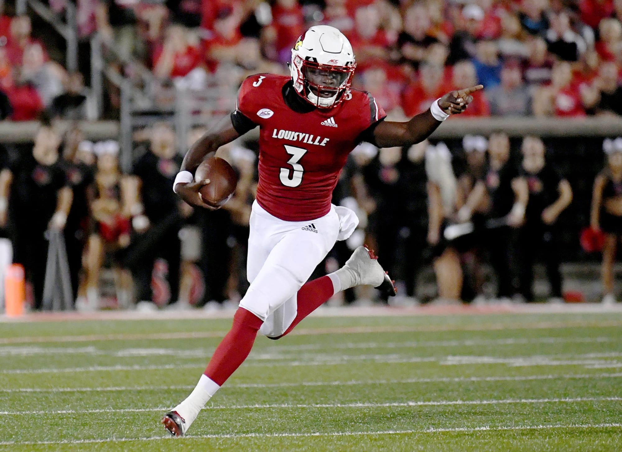 Louisville football: Malik Cunningham sings praises of new ...