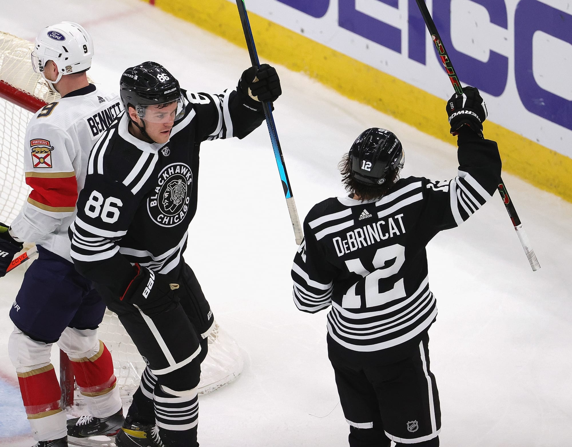 What is Mike Hardman bringing to the Chicago Blackhawks?