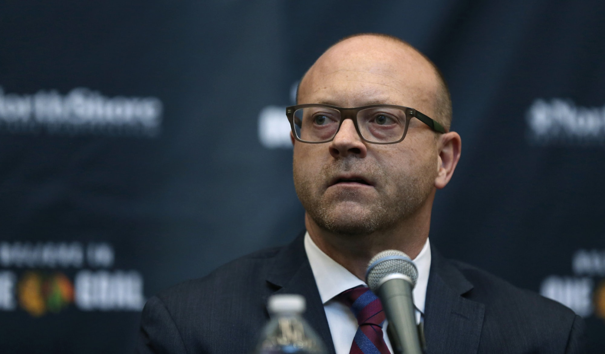 Chicago Blackhawks are in the playoffs, but what about Stan Bowman?