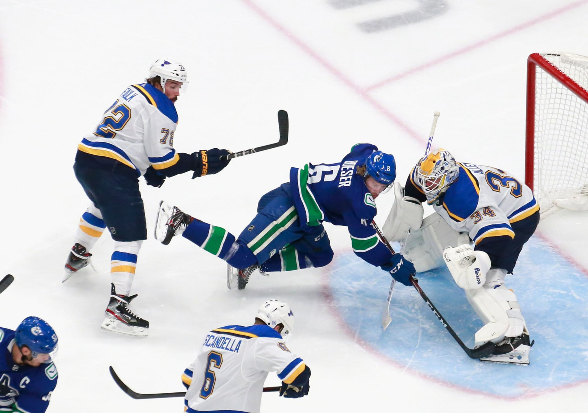 St. Louis Blues Defensive Pairings Completely Up In The Air