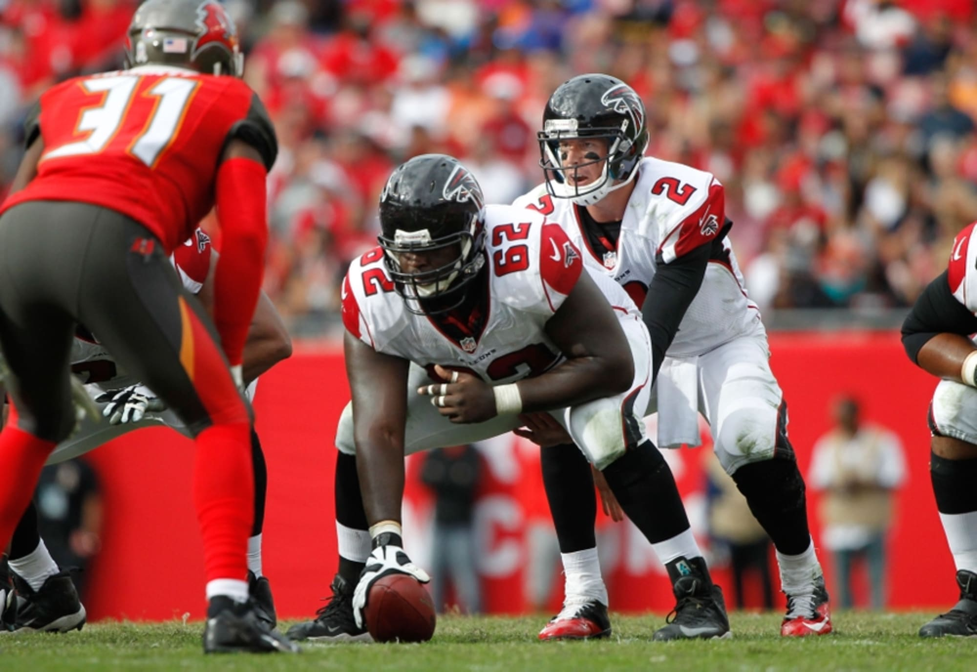 Atlanta Falcons reach injury settlement with James Stone