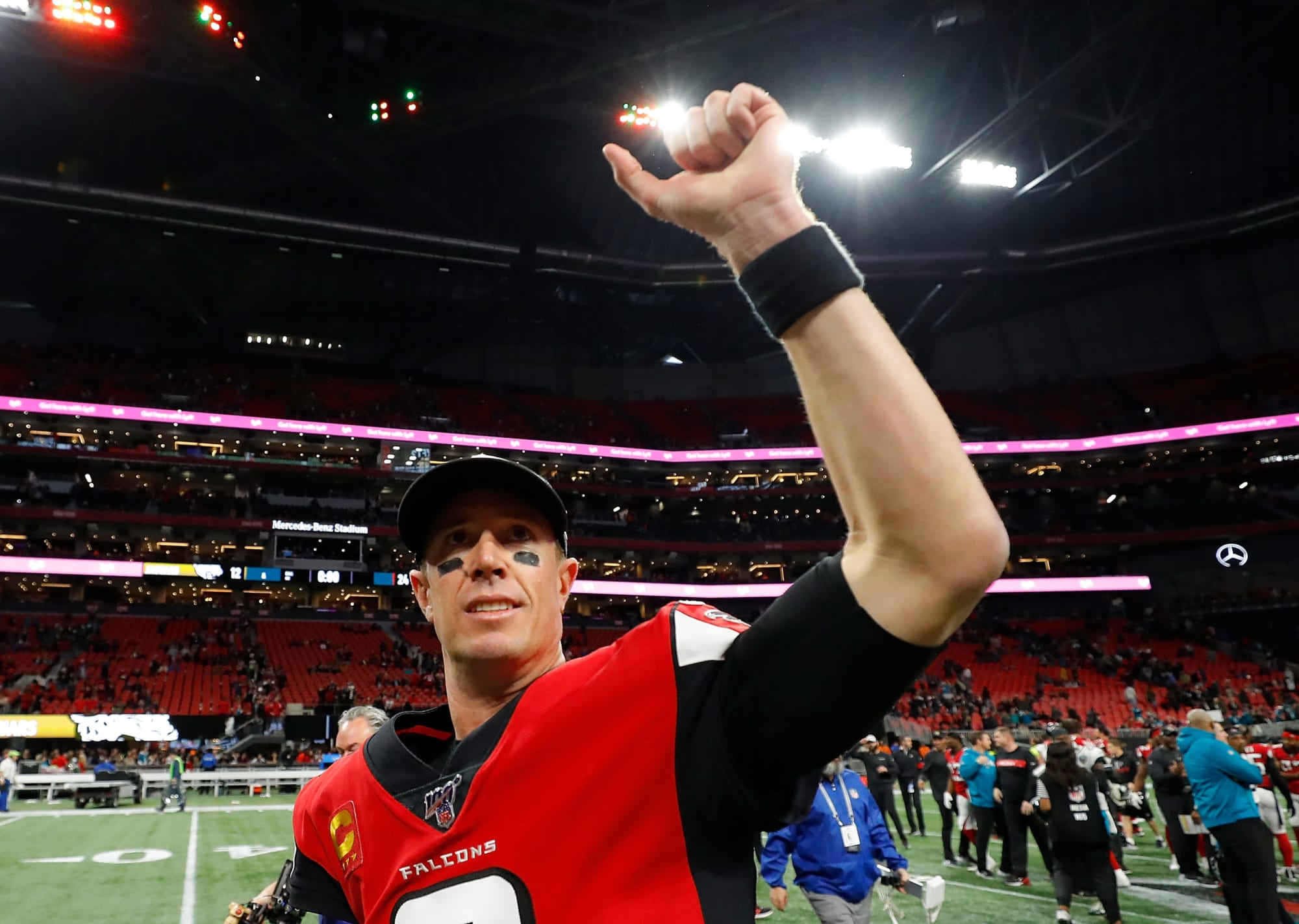 The Atlanta Falcons will avoid a first half collapse in 2020