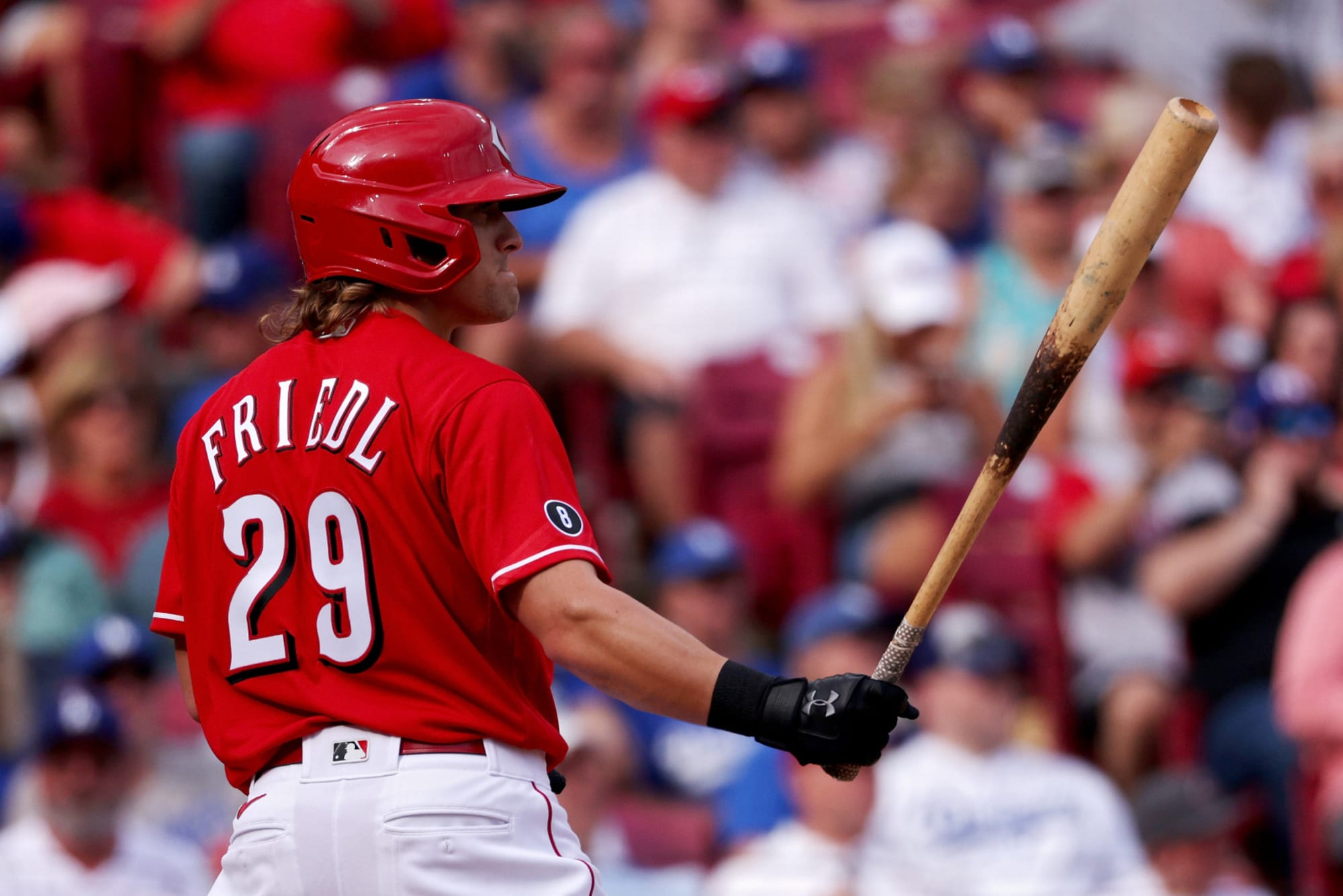 Reds: TJ Friedl should start in center field for the remainder of 2021