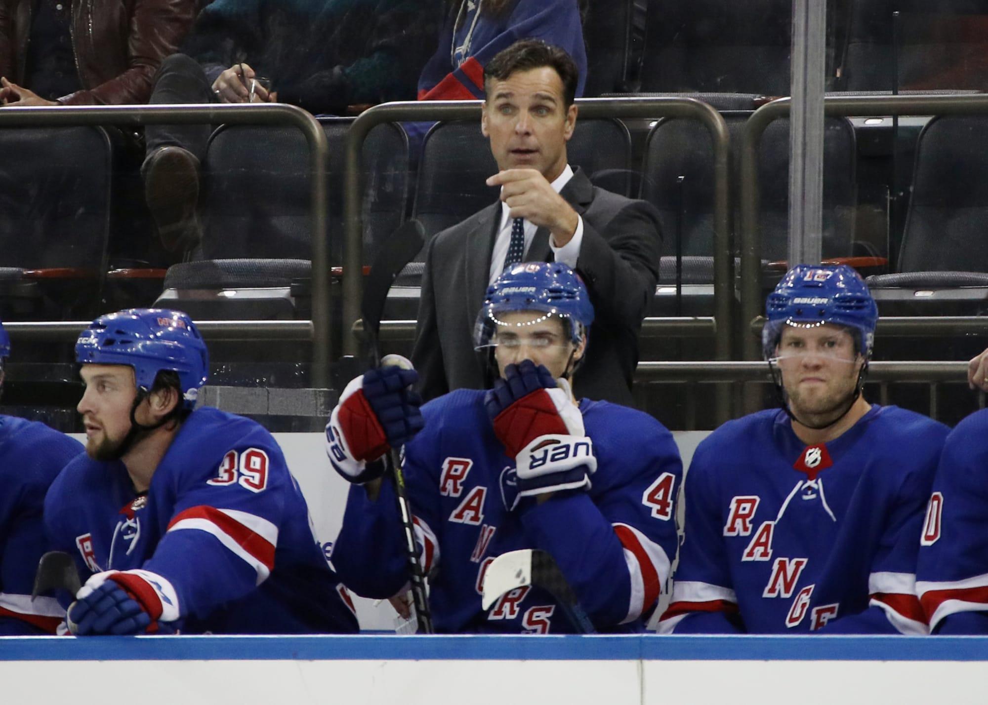 New York Rangers Gripes With David Quinn So Far