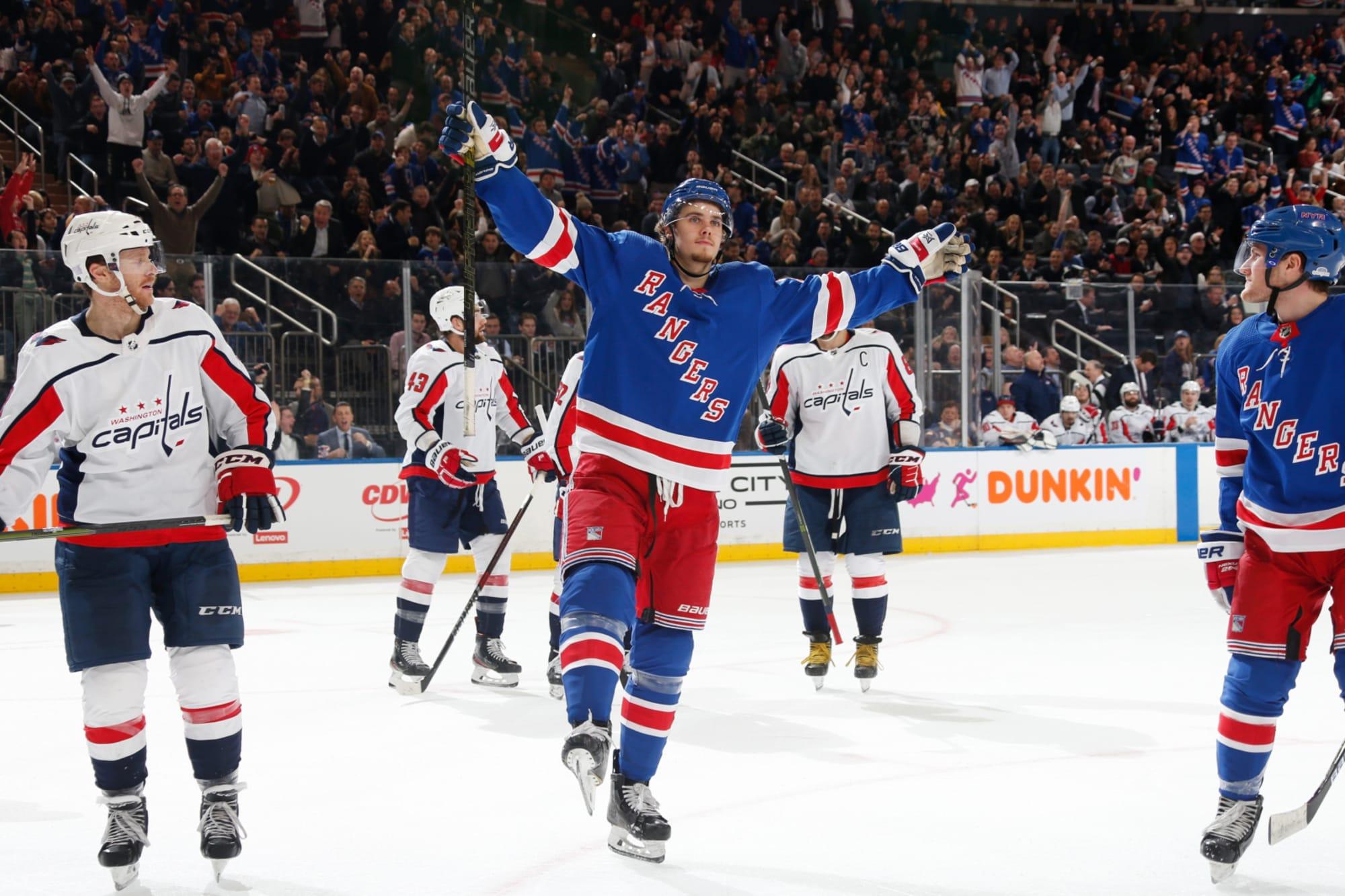 New York Rangers Vs Washington Capitals A Dominant 4 1 Win