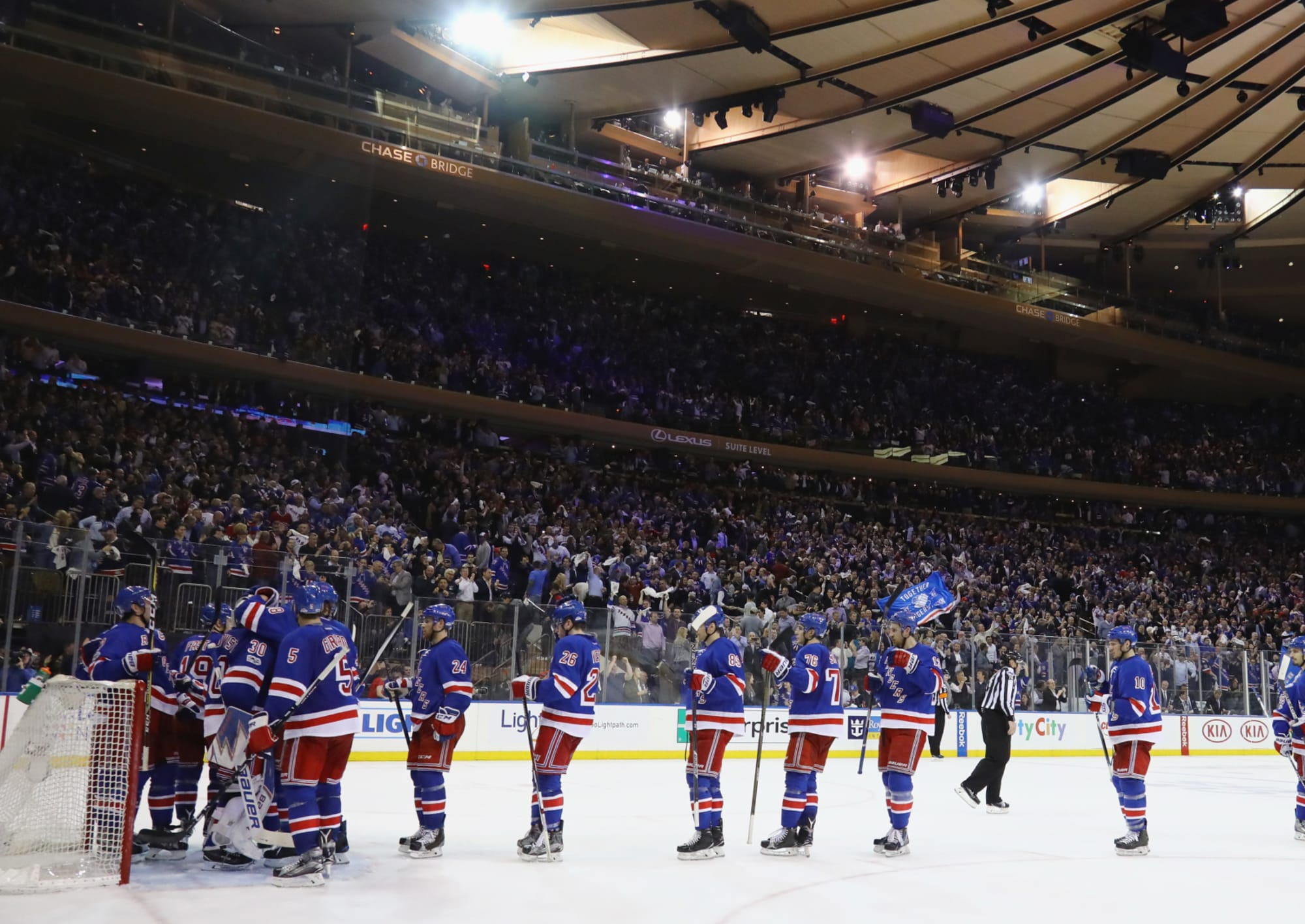 The key to the Rangers winning a best-of-five series