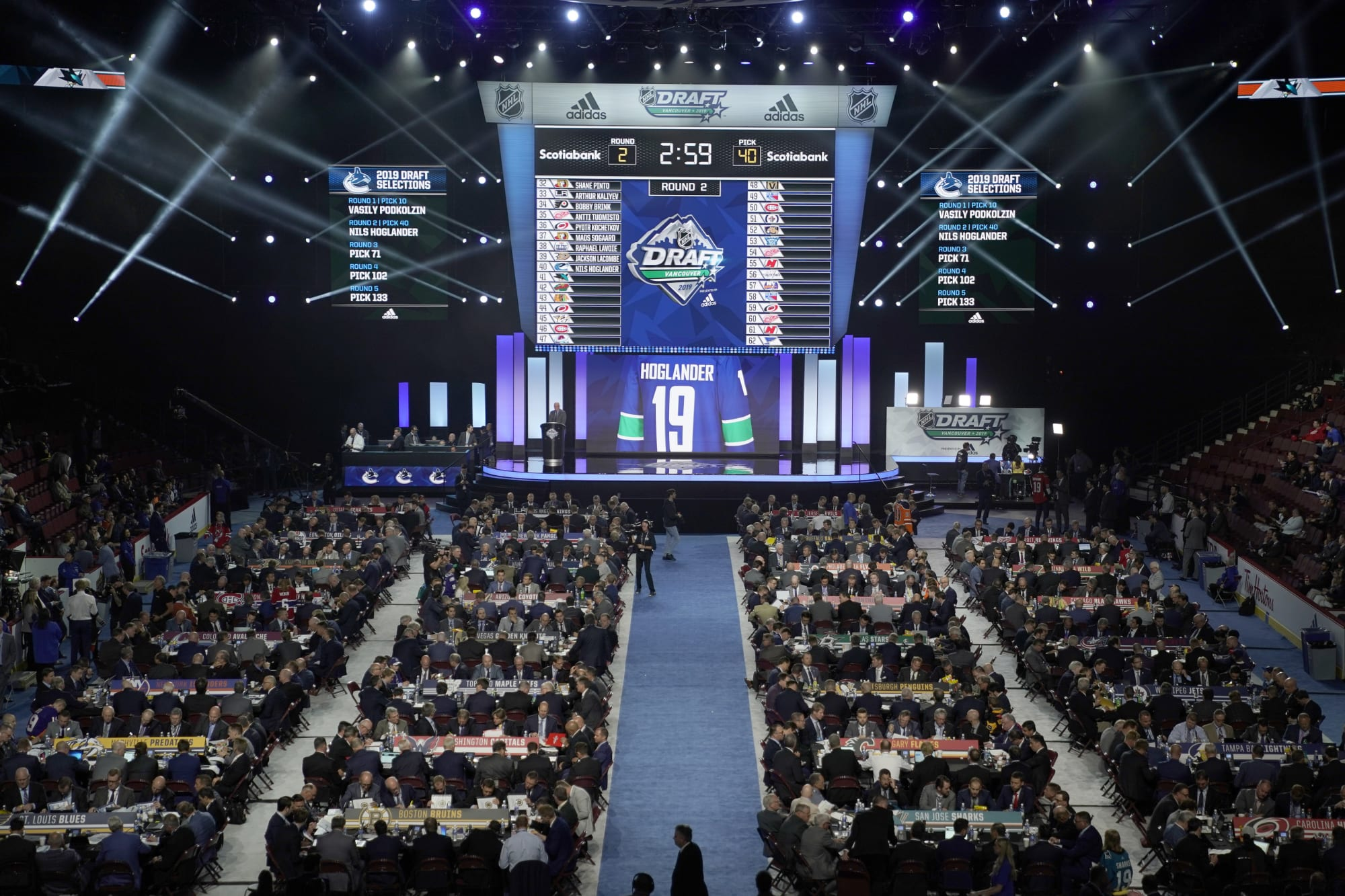 The draft keeps getting better and better for the Rangers