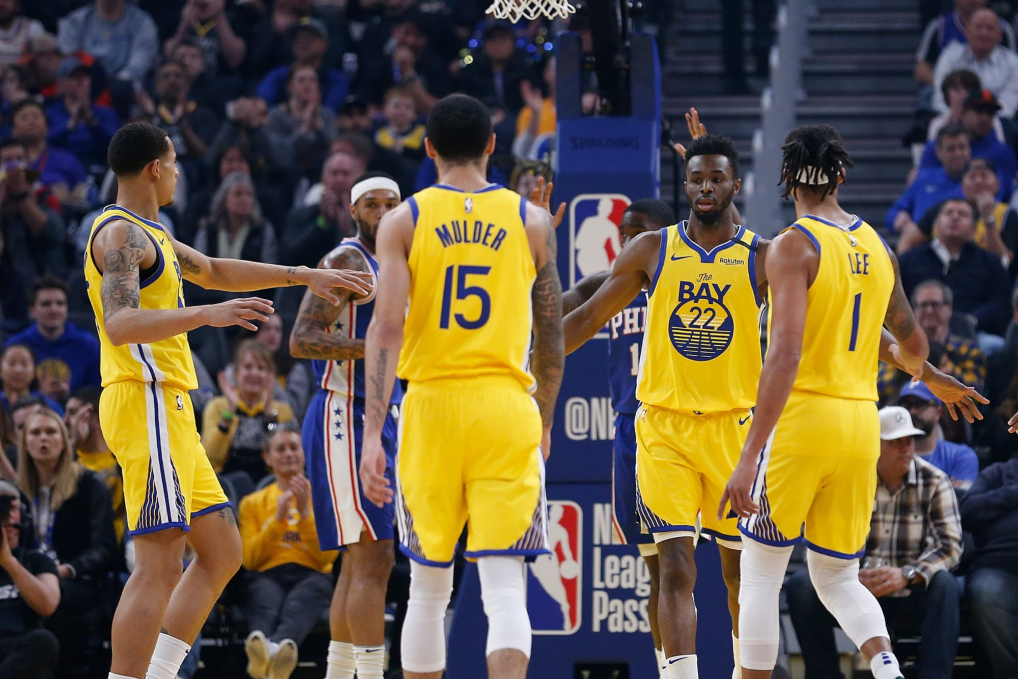 Playing in the second bubble would be beneficial for the Warriors
