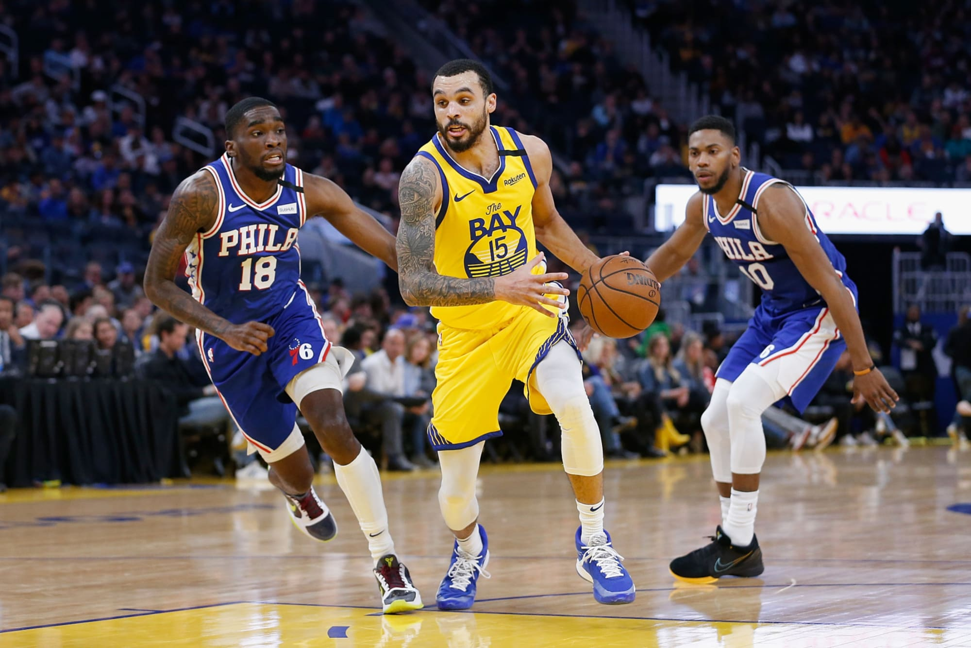 Mychal Mulder could be odd man out for Golden State Warriors