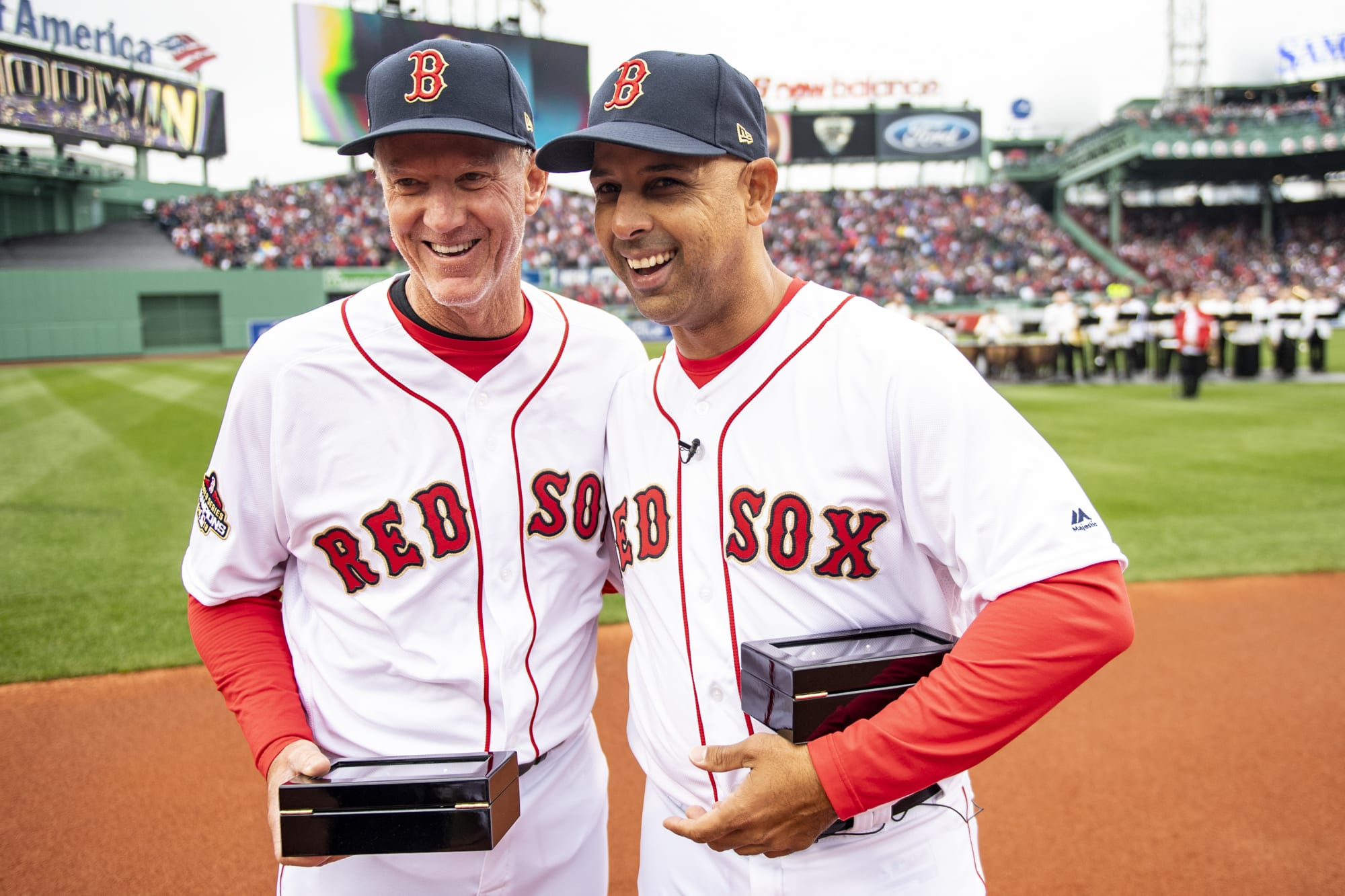 Red Sox manager Ron Roenicke isn't dwelling on job security