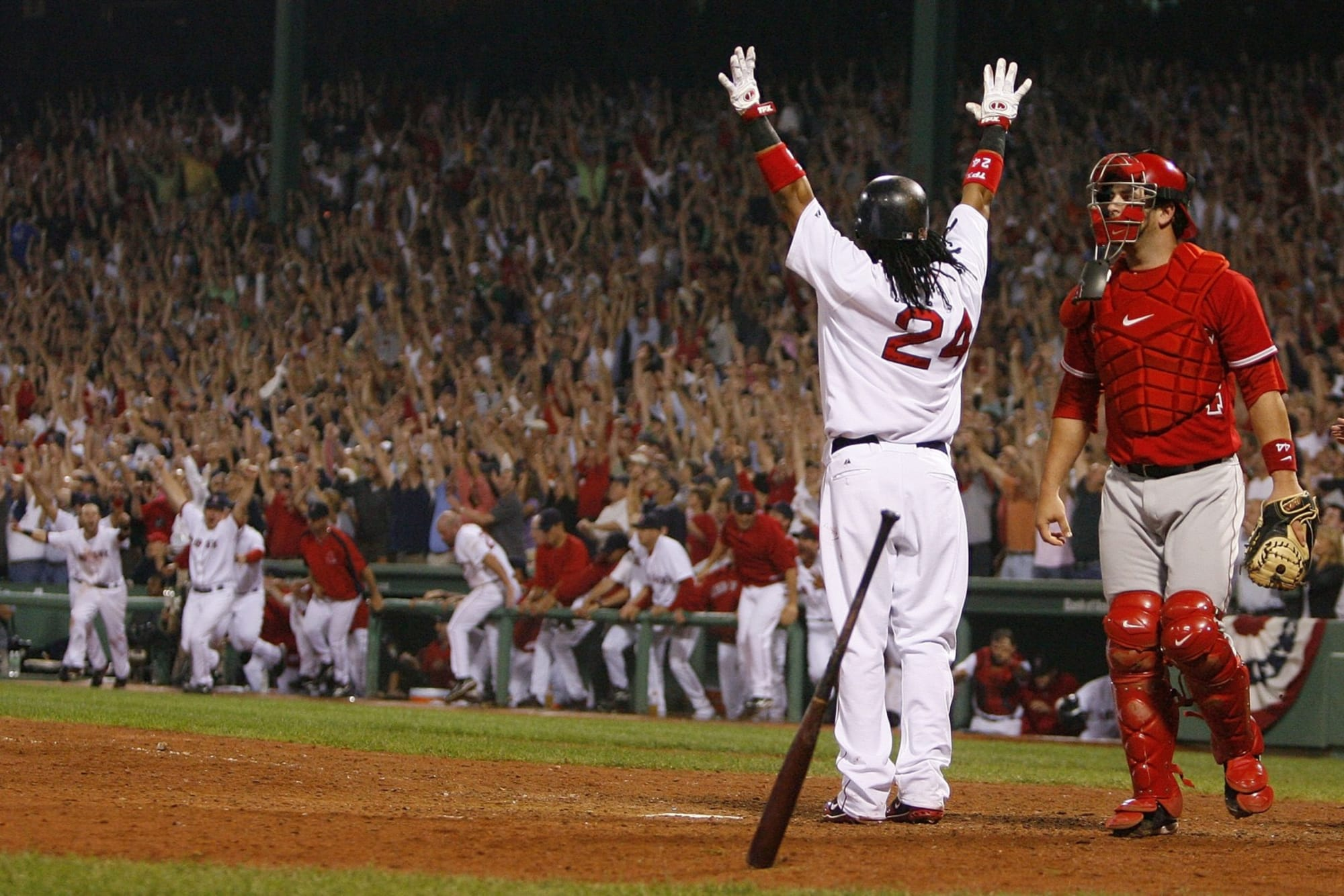 Red Sox Memories: Manny Ramirez hits walk-off home run in 2007 ALDS
