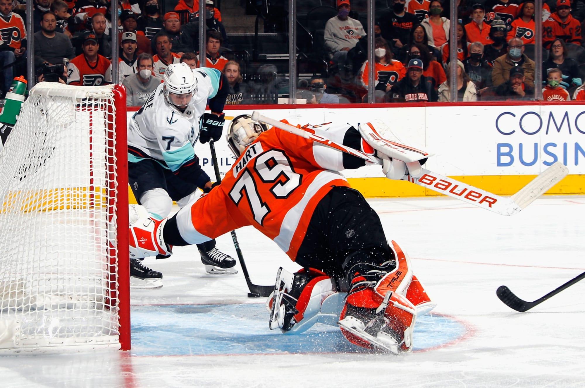 Flyers get first win of the season over Kraken