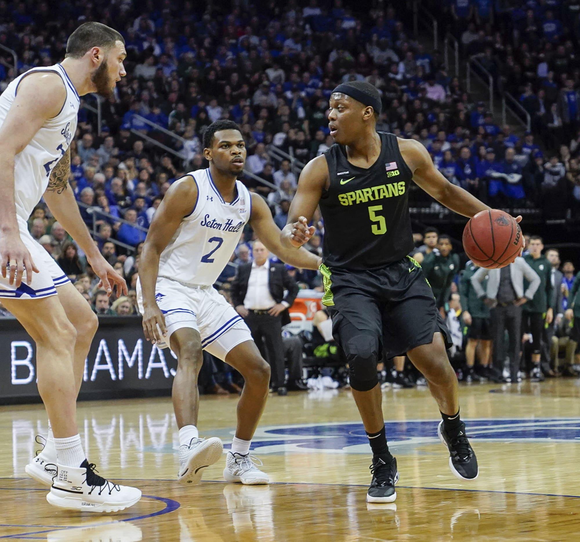 NCAA Basketball: Best games from 2019-20 season – Michigan State vs. Seton Hall