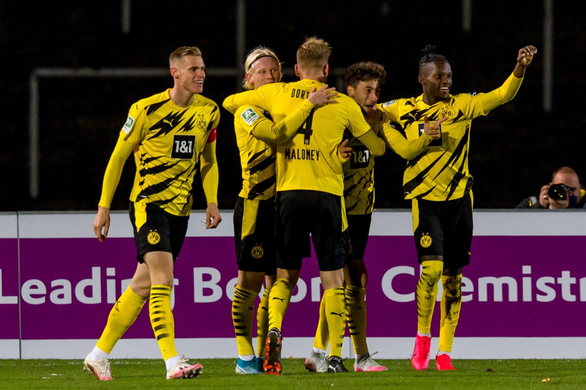 Borussia Dortmund II Make It Eight Wins In Ten Beat Preu en M nster