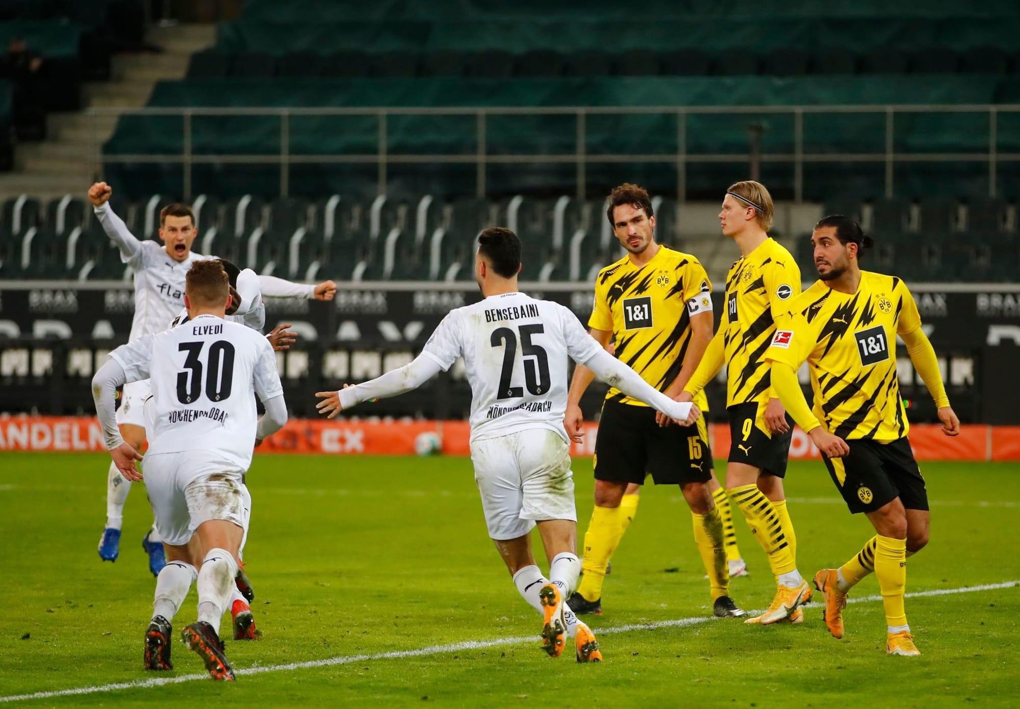 Borussia Dortmund player ratings from 4-2 defeat to Mönchengladbach: Haaland brace in vain