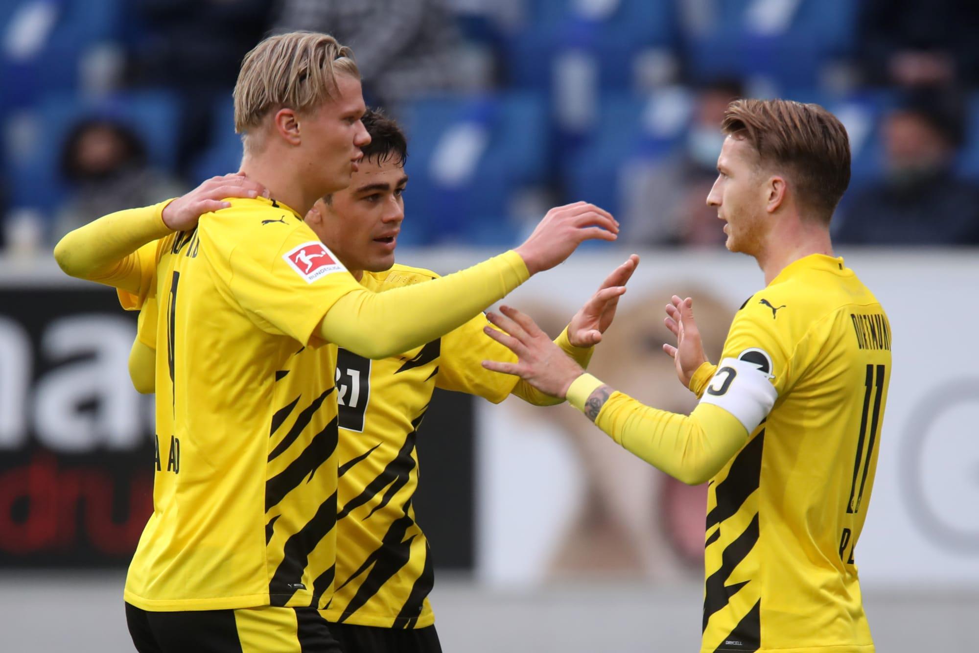 Reus helps Borussia Dortmund earn narrow 1-0 win against Hoffenheim