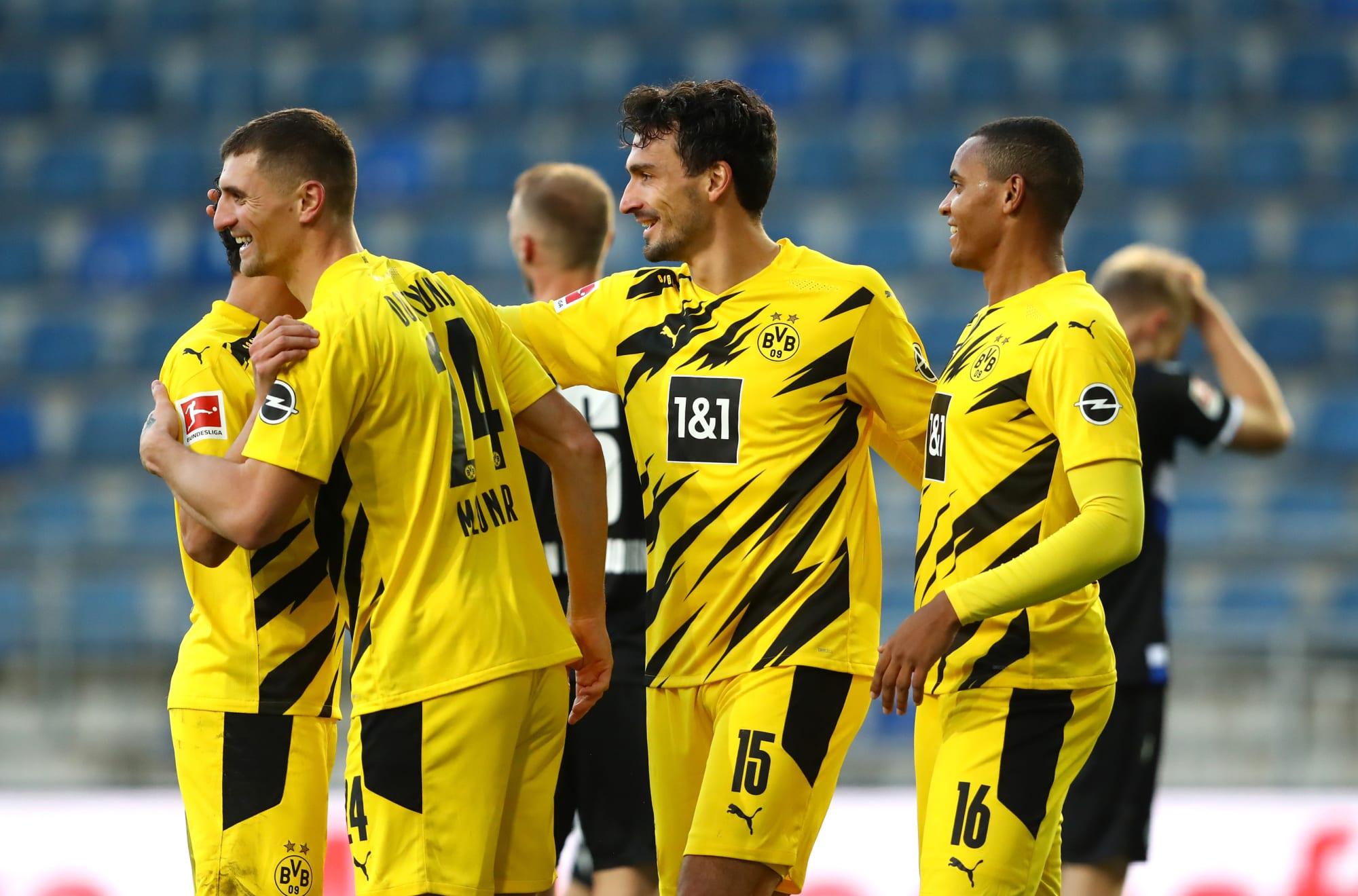 Borussia Dortmund Beat Arminia Bielefeld