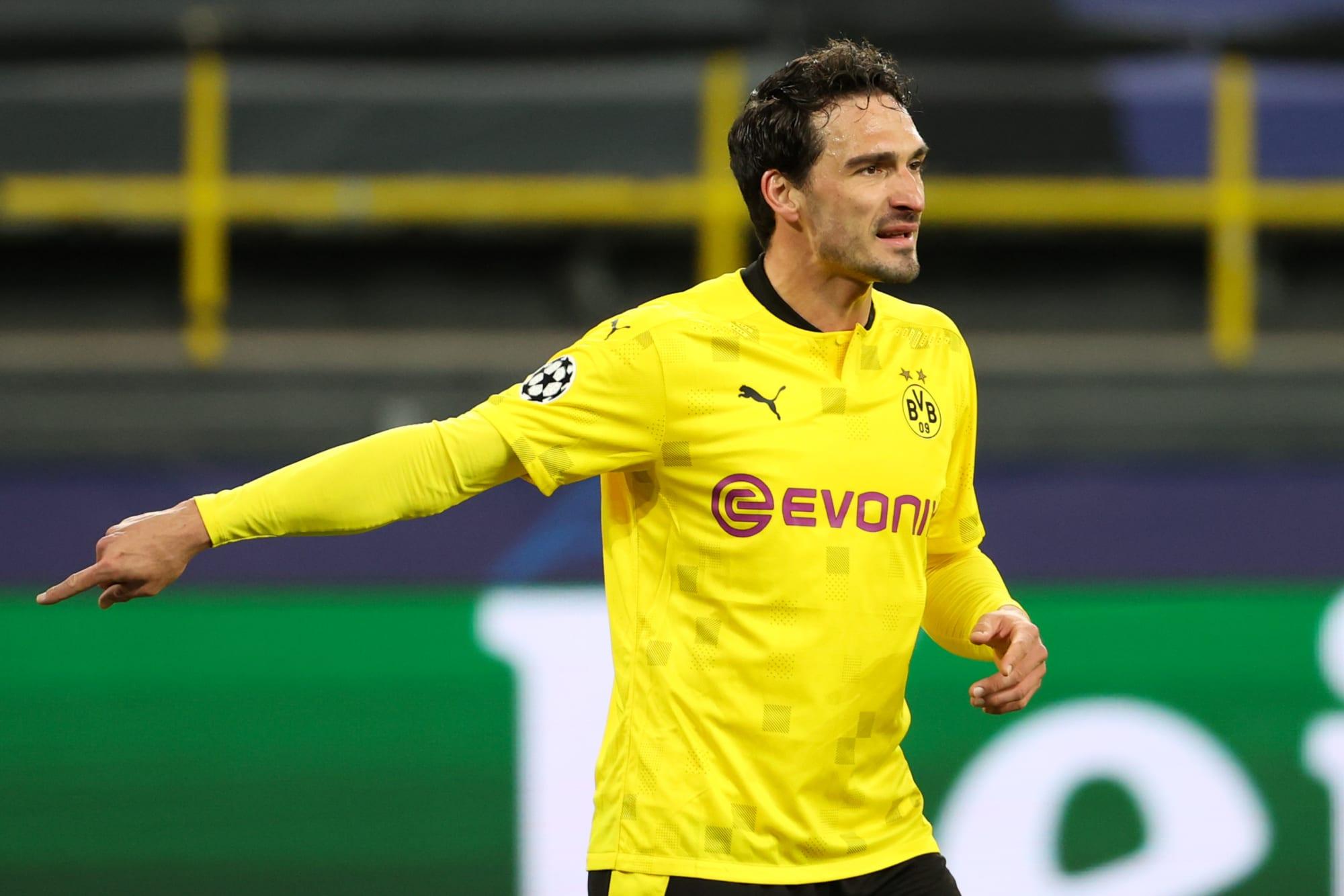 Borussia Dortmund face uncertainty over Mats Hummels injury