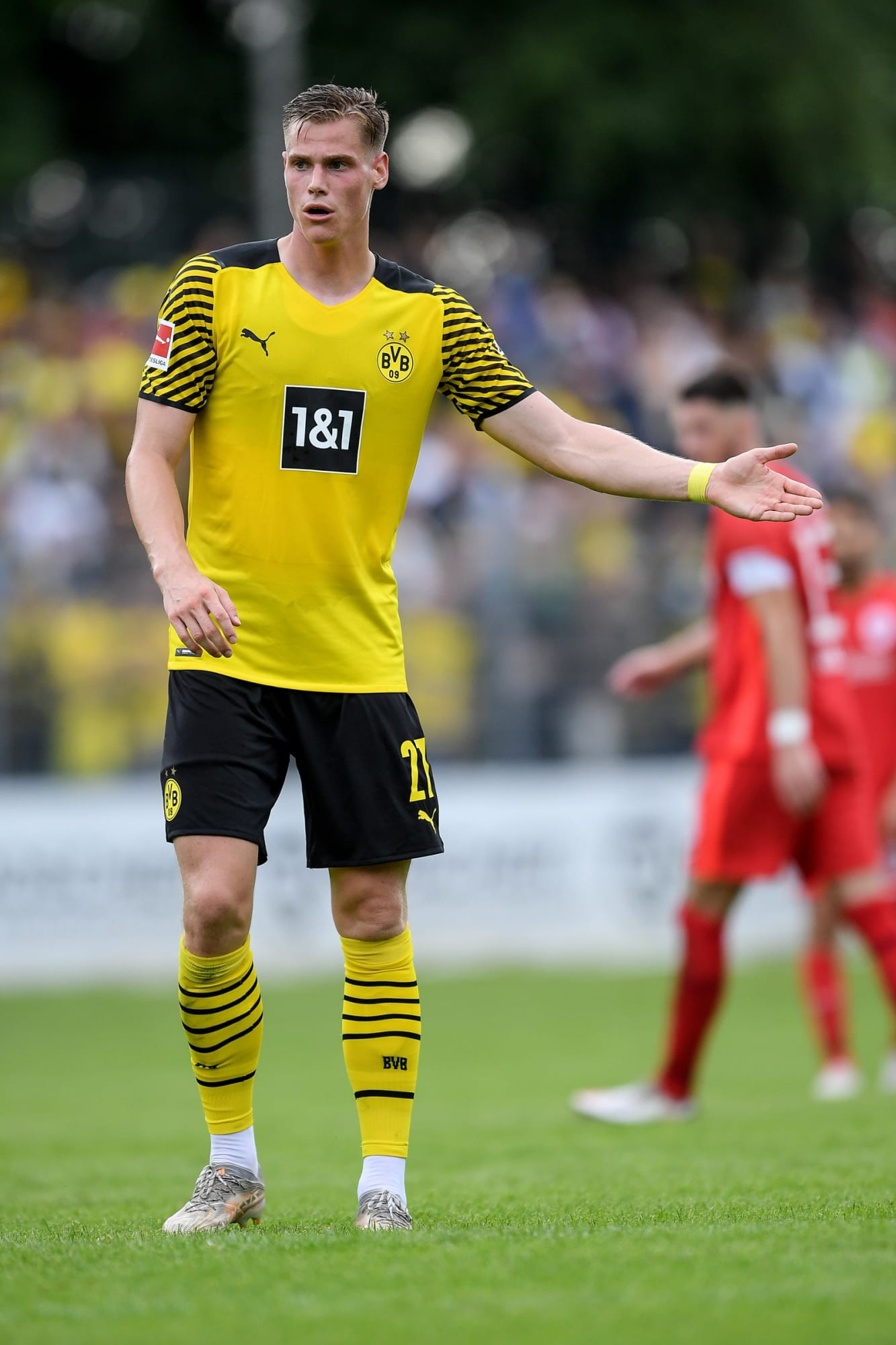 Steffen Tigges hoping to contribute to Borussia Dortmund's success this season