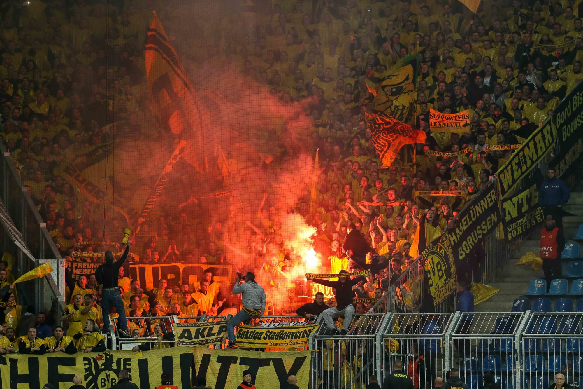German Fa Opens Investigation Against Borussia Dortmund Magdeburg