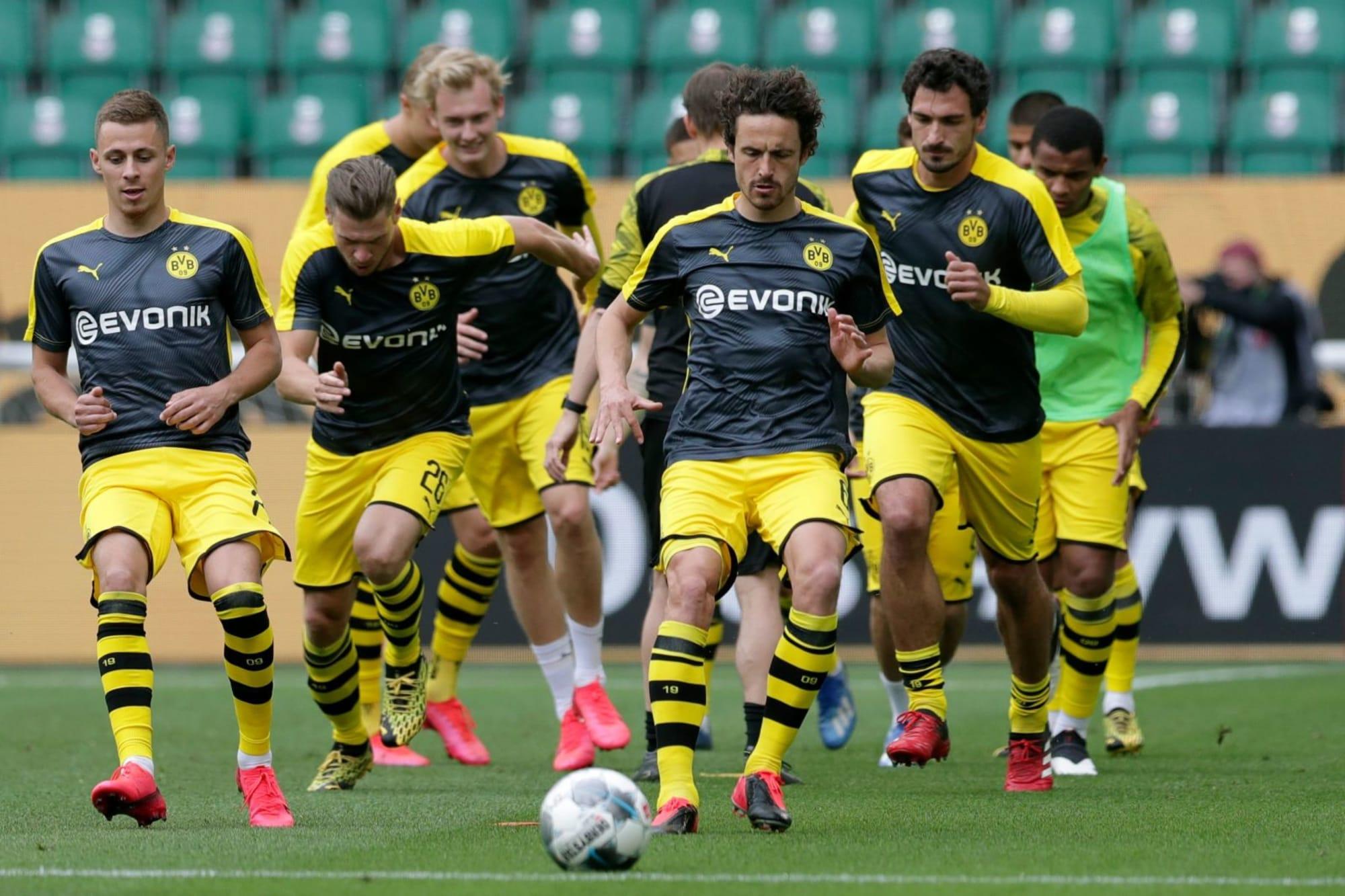 Borussia Dortmund release pre-season and fixture schedule for August