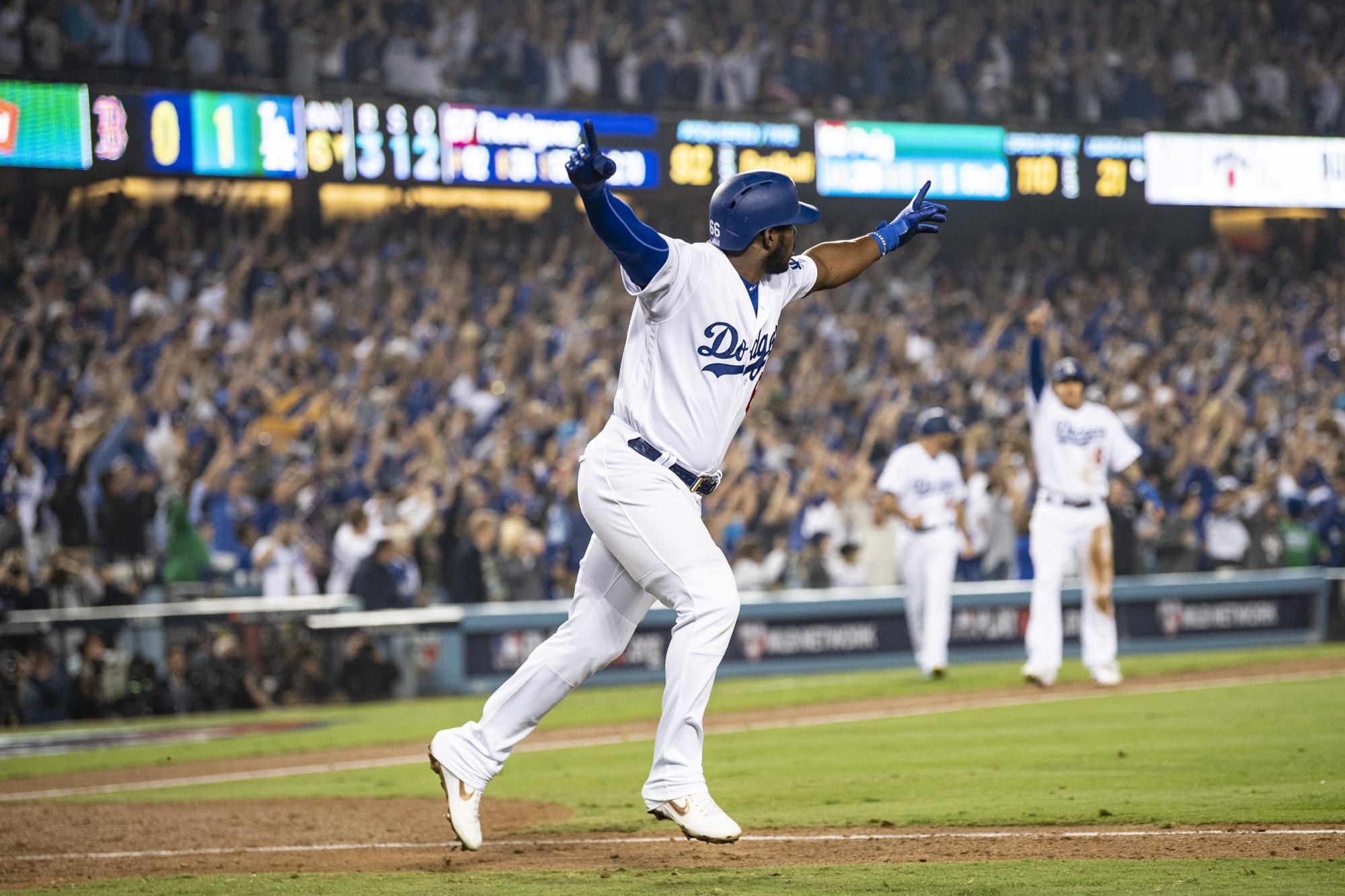 Los Angeles Dodgers: Yasiel Puig finally finds a home