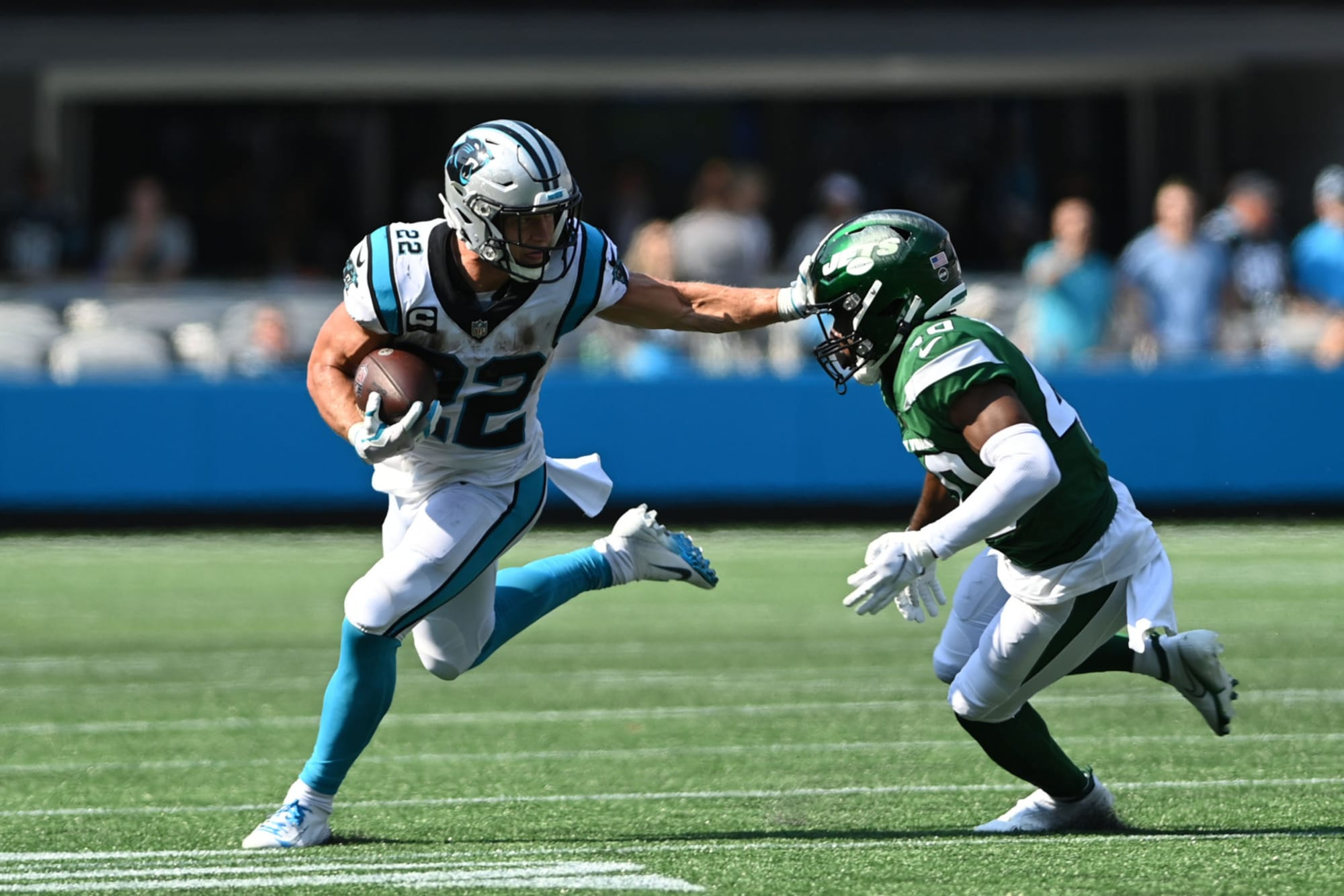 Christian McCaffrey already back to his best after 308-day absence - Cat Crave