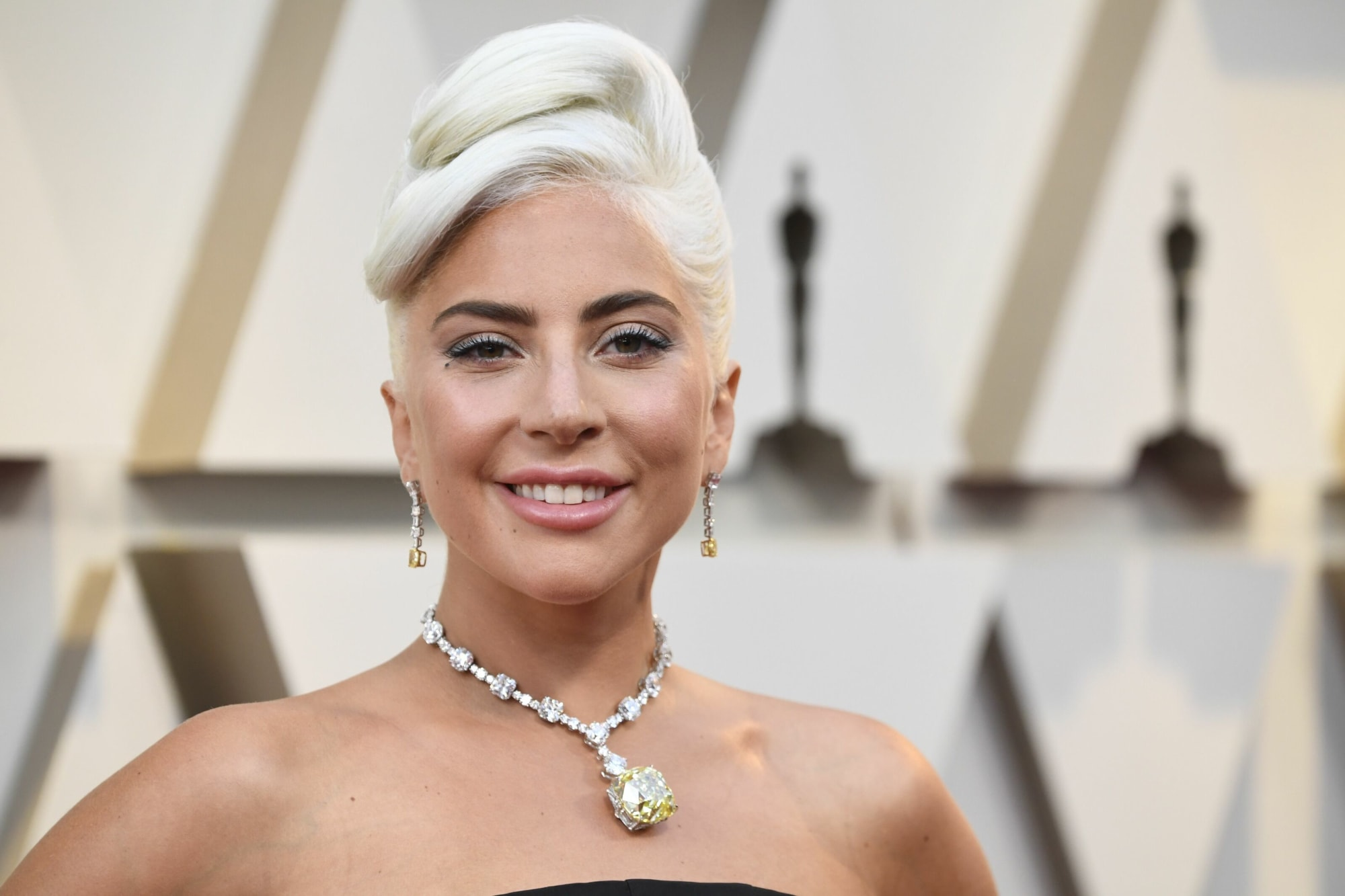 Lady Gaga impresses with cheeky pantless bend-over in high heels