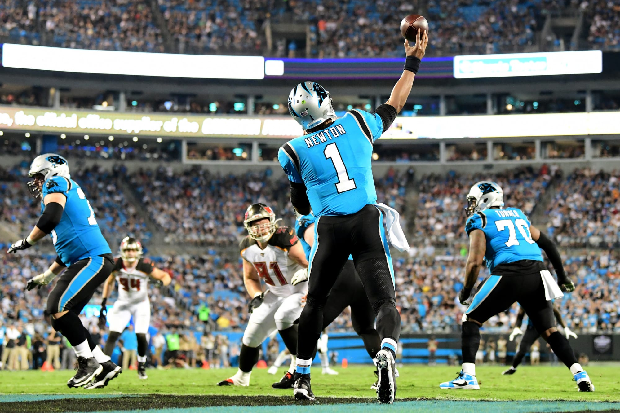 New England Patriots: Cam Newton is ready to strike fear in AFC opponents