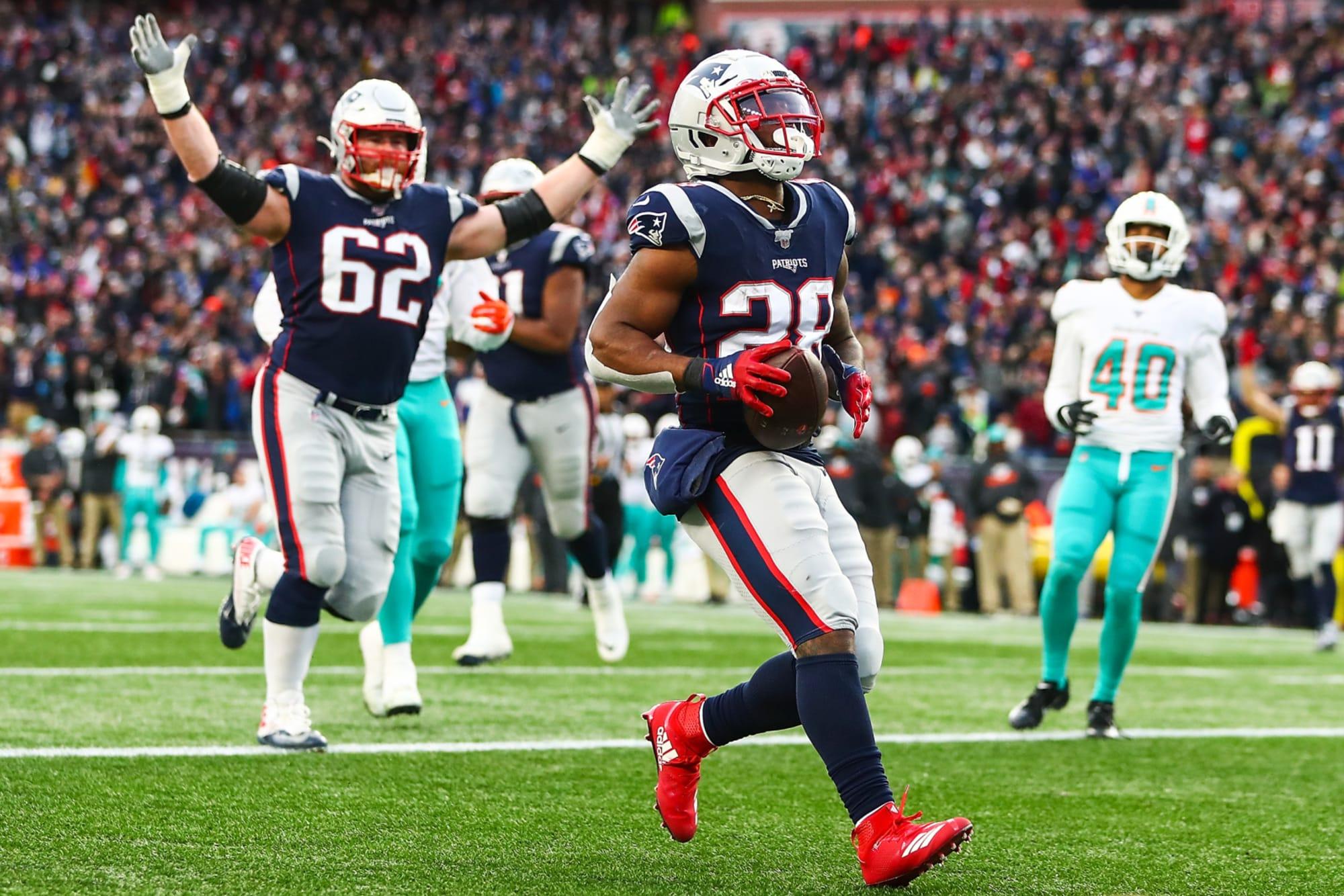 New England Patriots Team Spends Big On Running Backs