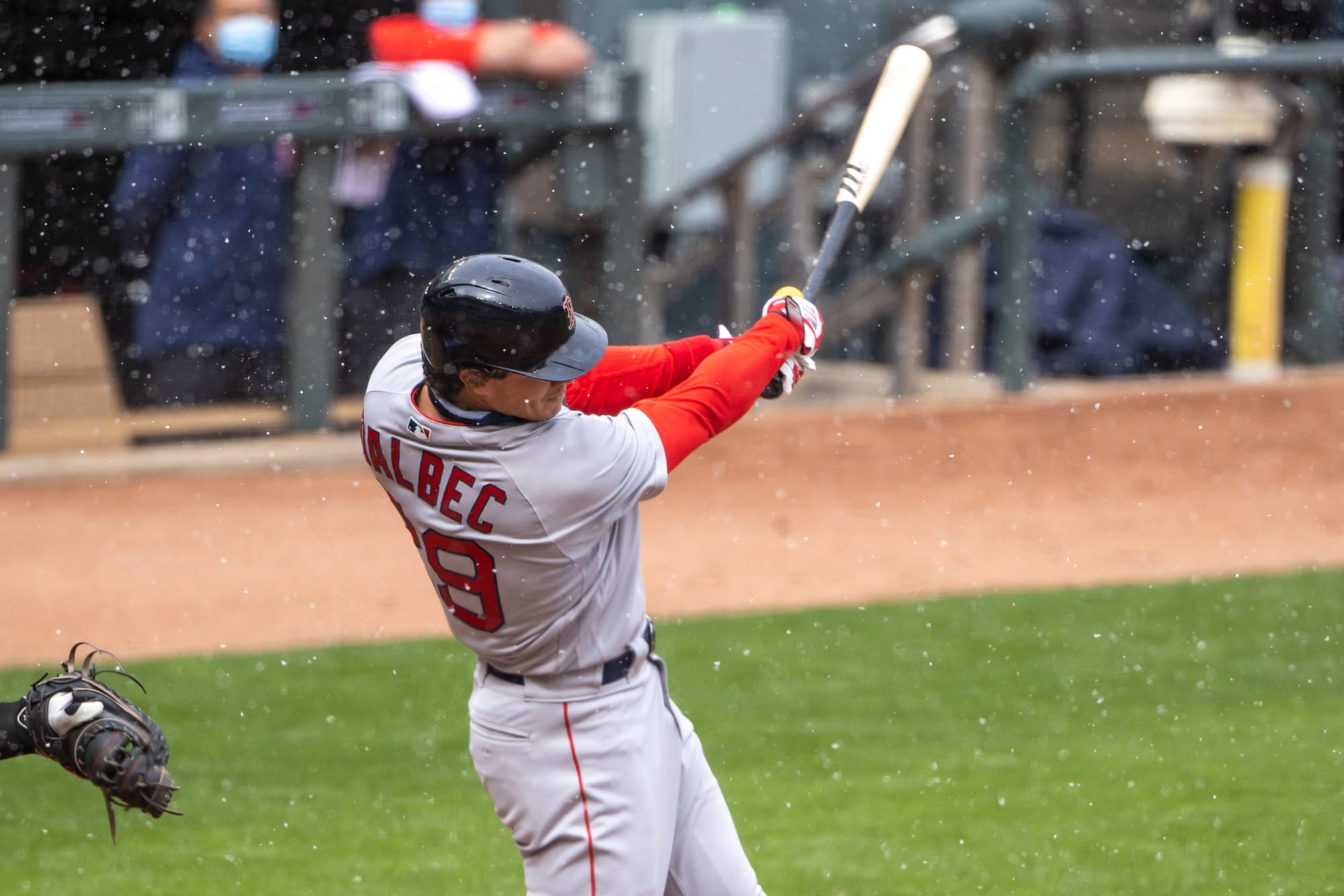 Boston Red Sox too hot to handle…even in frigid temperatures