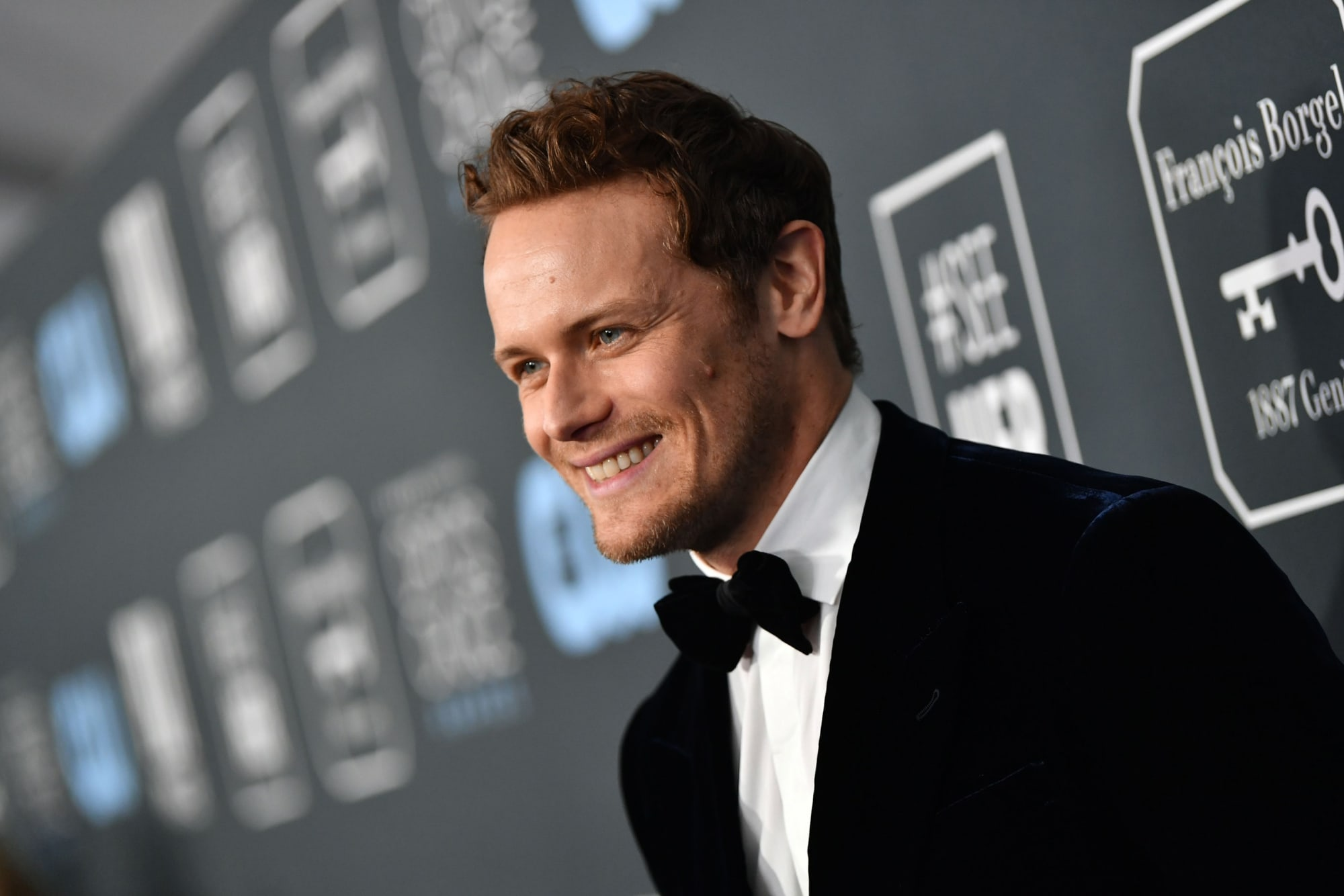 Can you really text Sam Heughan?