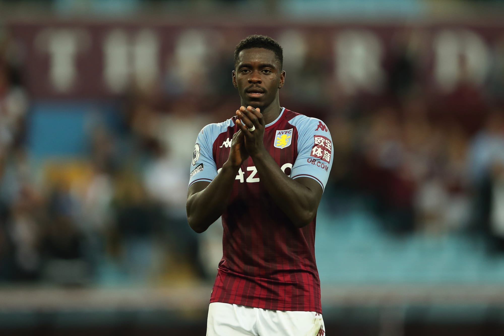 Axel Tuanzebe unavailable for Aston Villa's trip to Manchester United