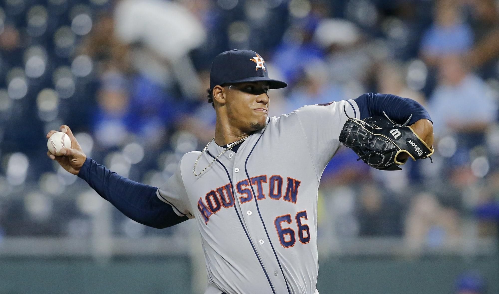 Astros pitchers Bryan Abreu, Kent Emanuel have rough days