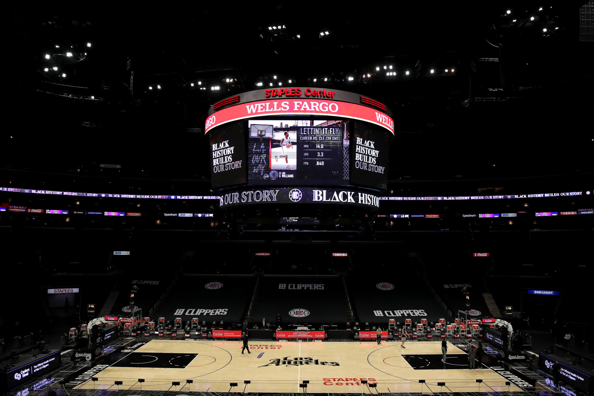 LA Clippers: Fans back in the arena is a welcome sight