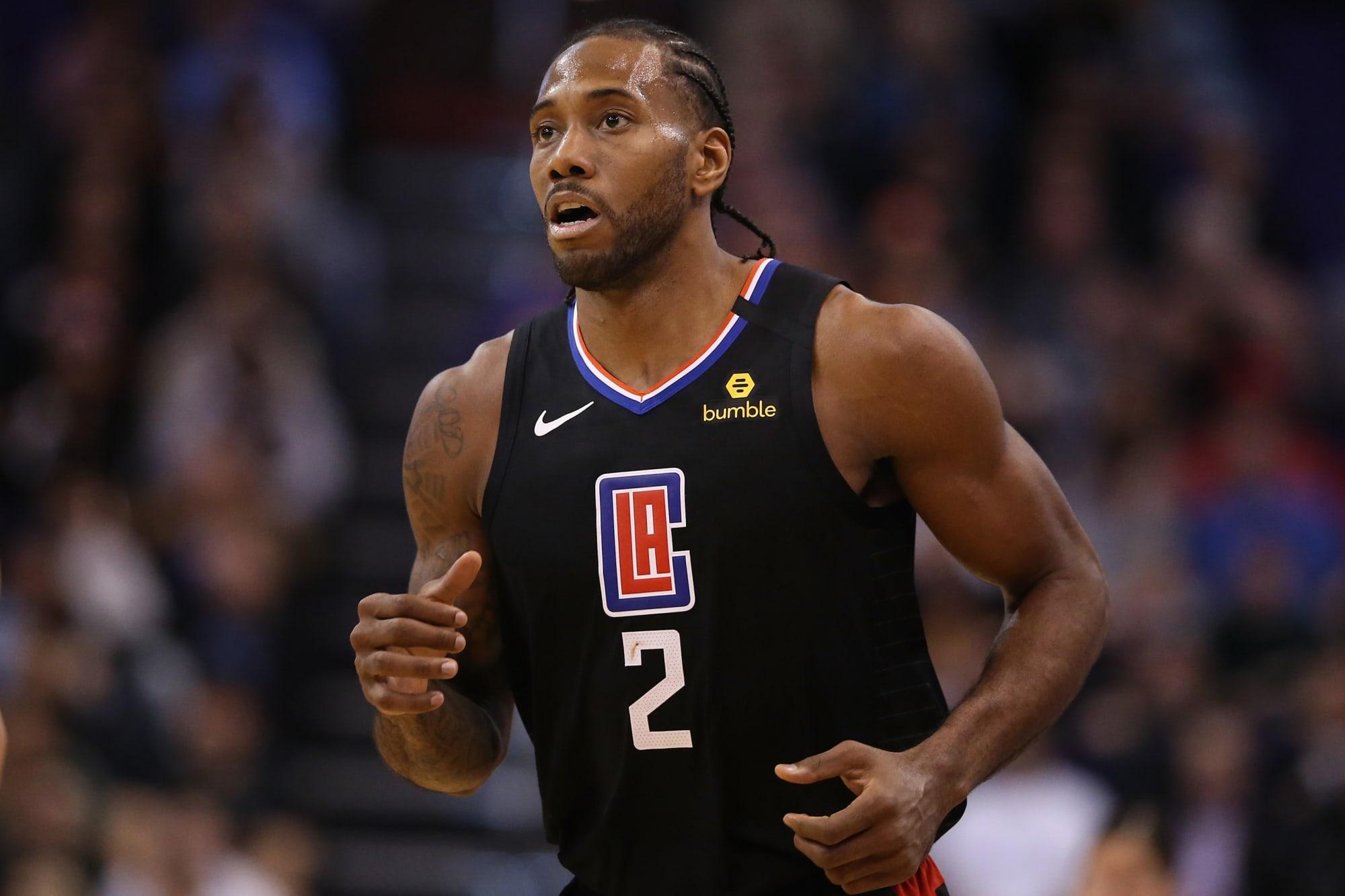 LA Clippers: Kawhi Leonard arrives, team gets Sunday off