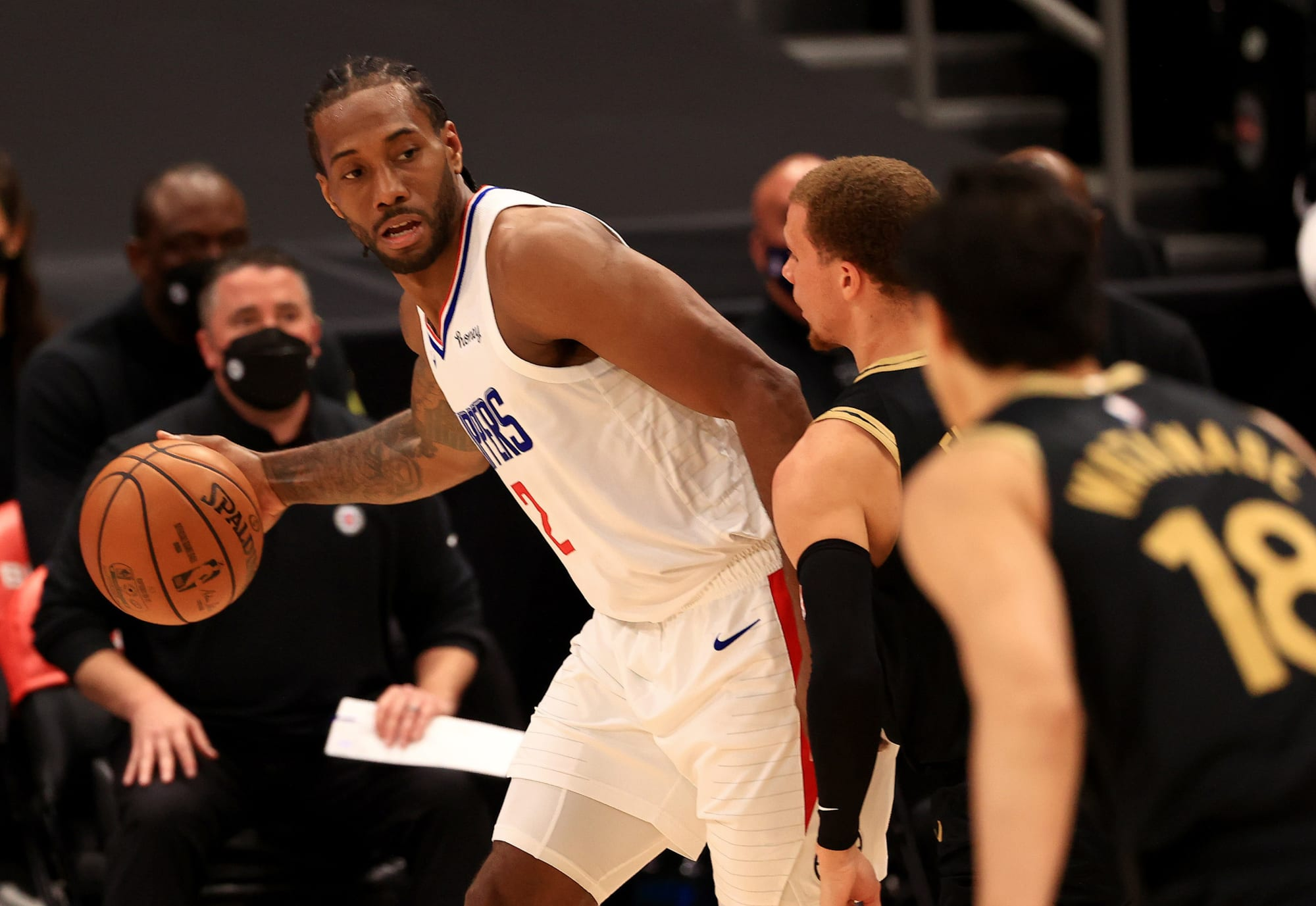 How Paul Goerge and Kawhi Leonard compare to other top duos in West