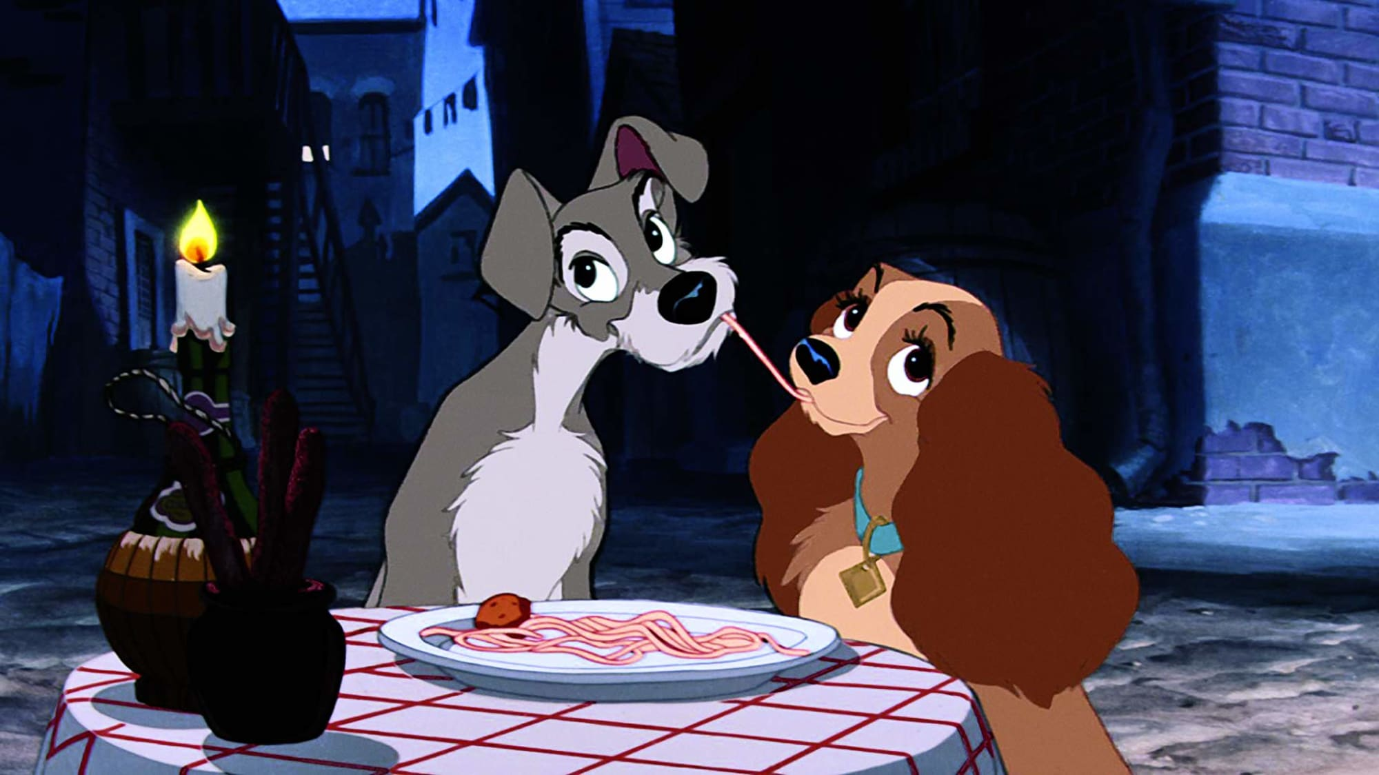 First Images Of Disney S Lady And The Tramp Remake Reveal Adorable Cast