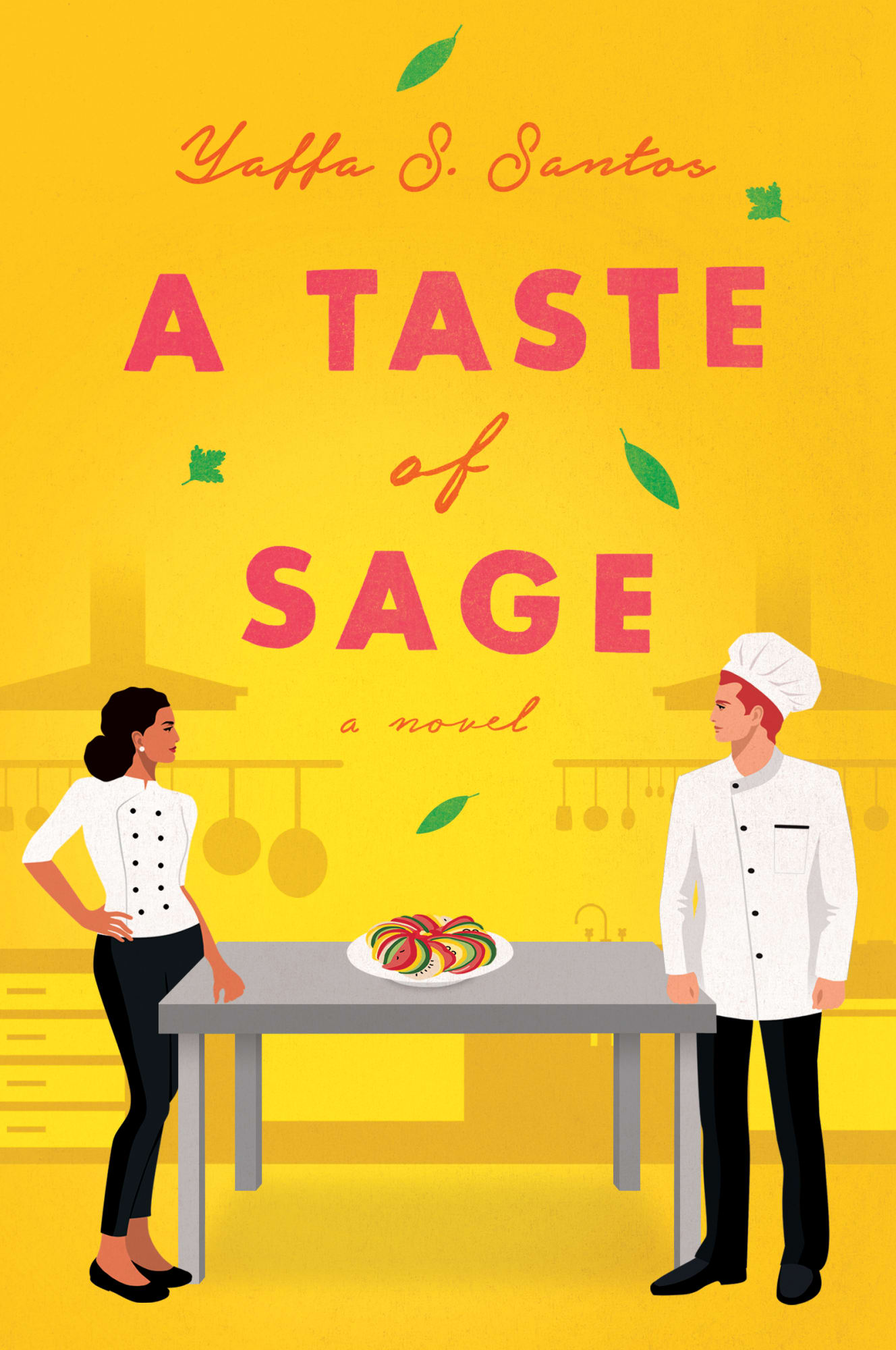 A Taste of Sage is the hopeful romance novel we all need right now