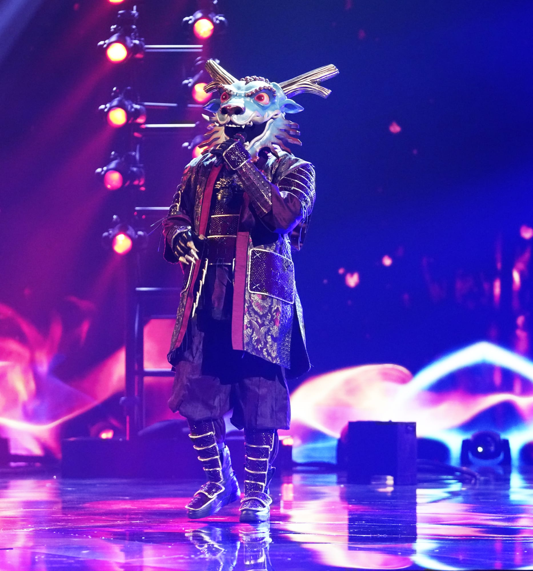 Busta Rhymes Revealed On The Masked Singer Season Four Premiere
