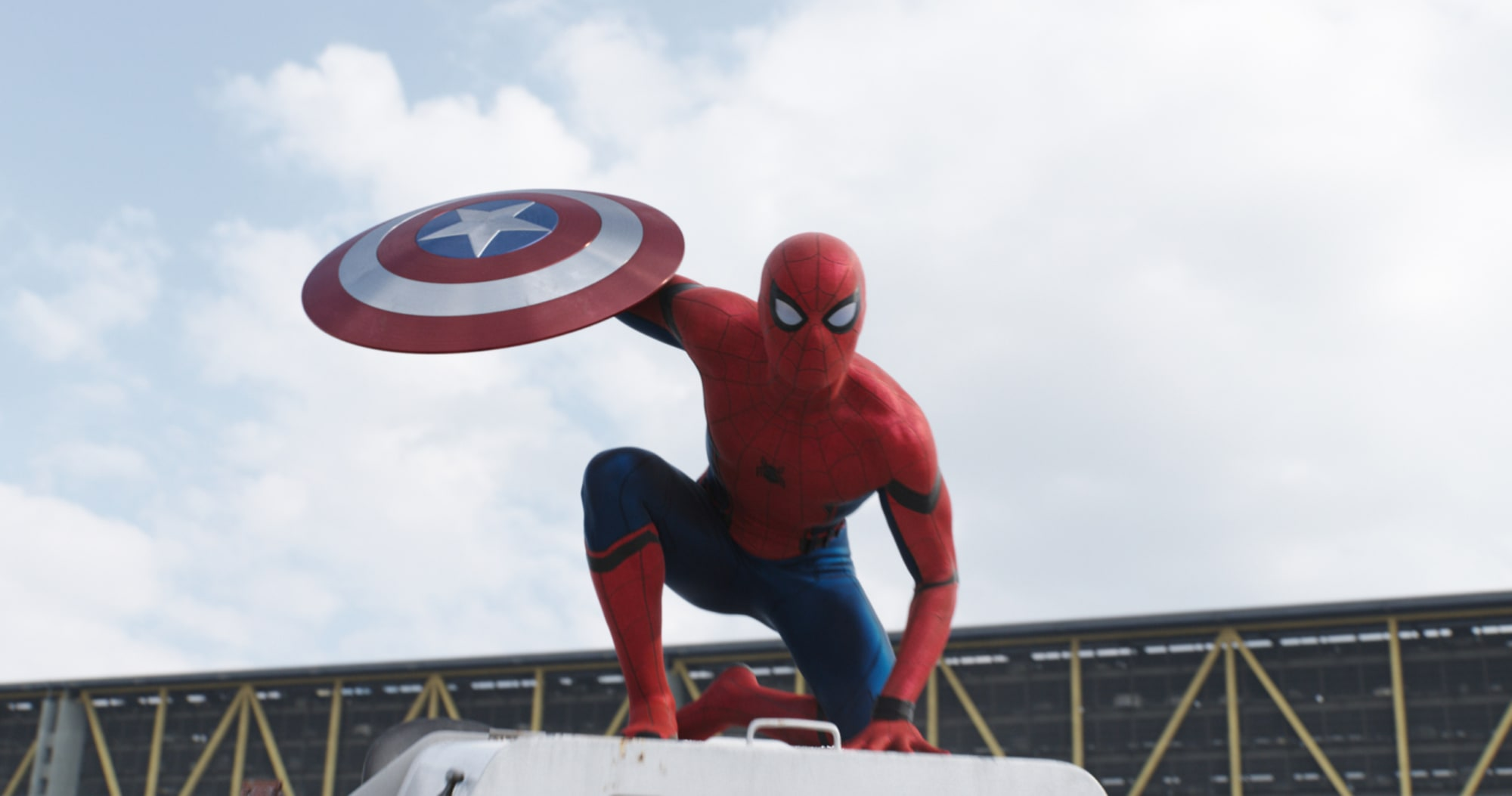 Tom Holland reprises his Spider-Man role at Disneyland's Avengers Campus
