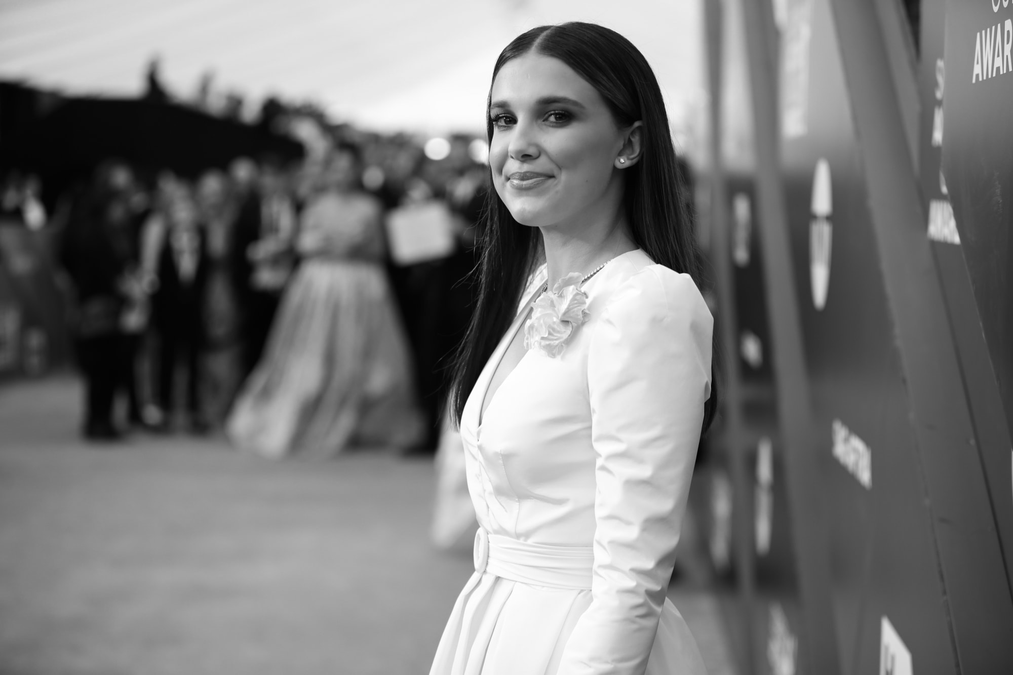 Star Wars: Millie Bobby Brown wows as Princess Leia in stunning image