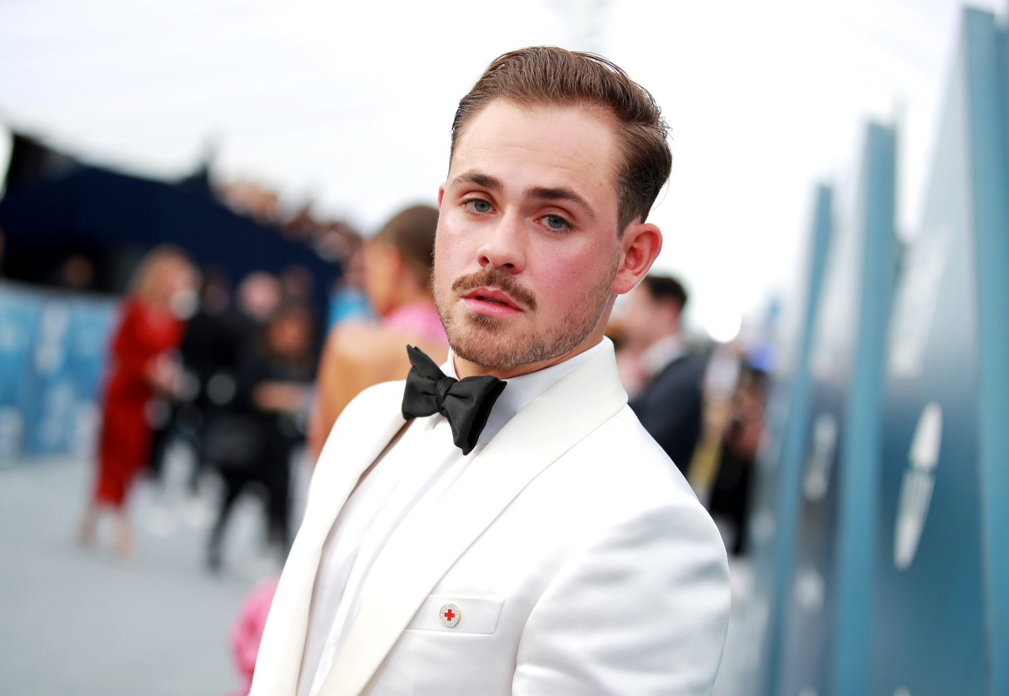 Fantastic Four: Dacre Montgomery suits up as Human Torch in stunning image