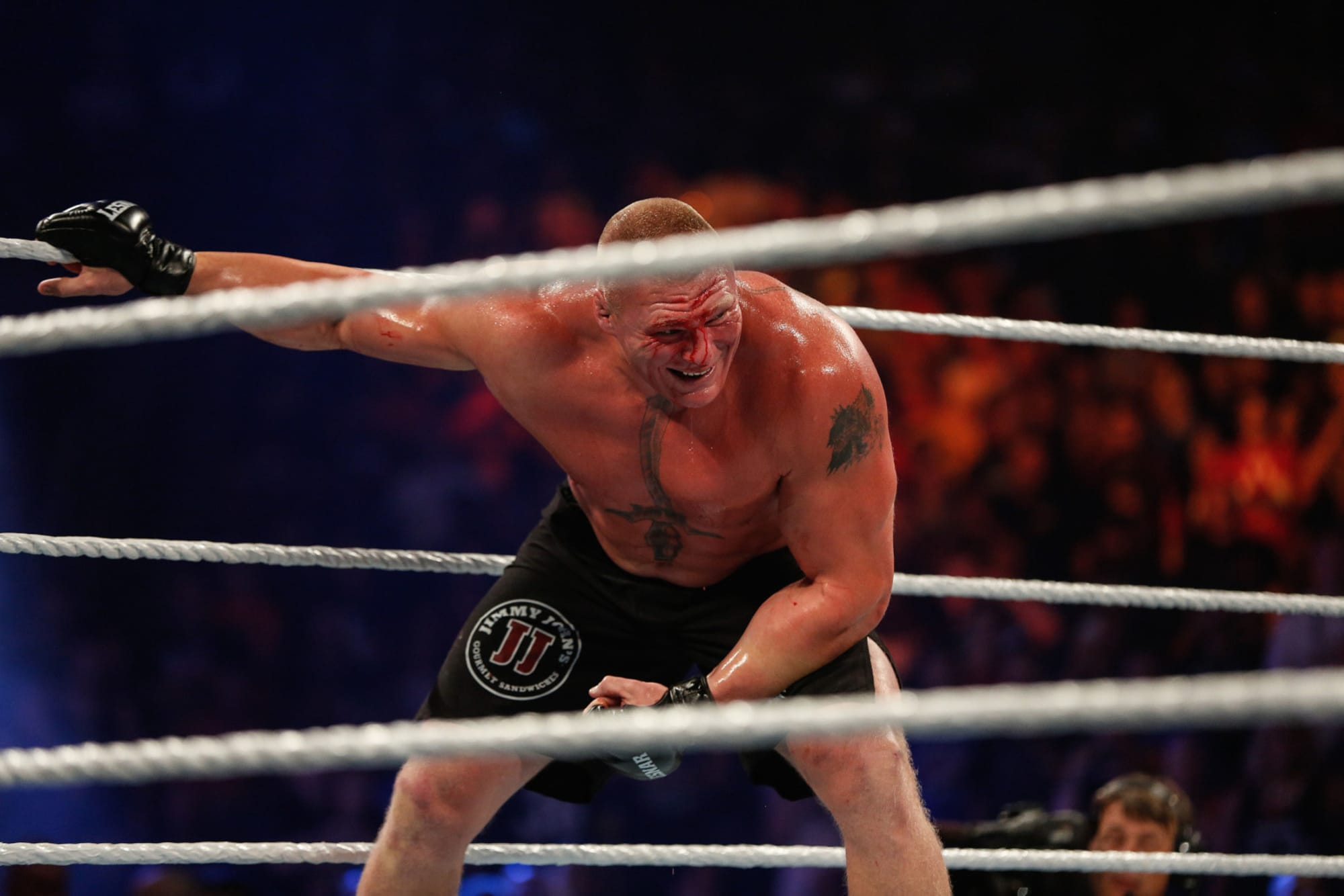 WWE: Brock Lesnar should stay away from Drew McIntyre