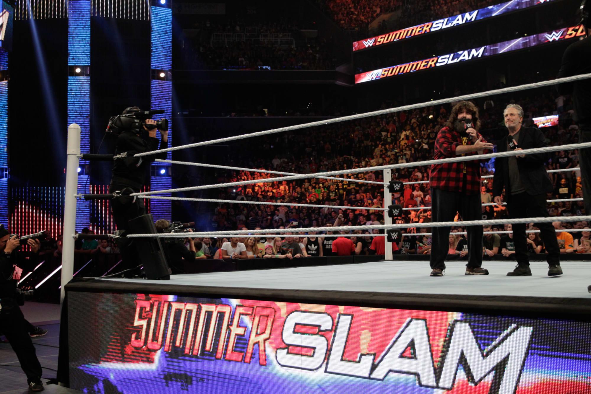 WWE is considering Las Vegas' Allegiant Stadium for SummerSlam 2021
