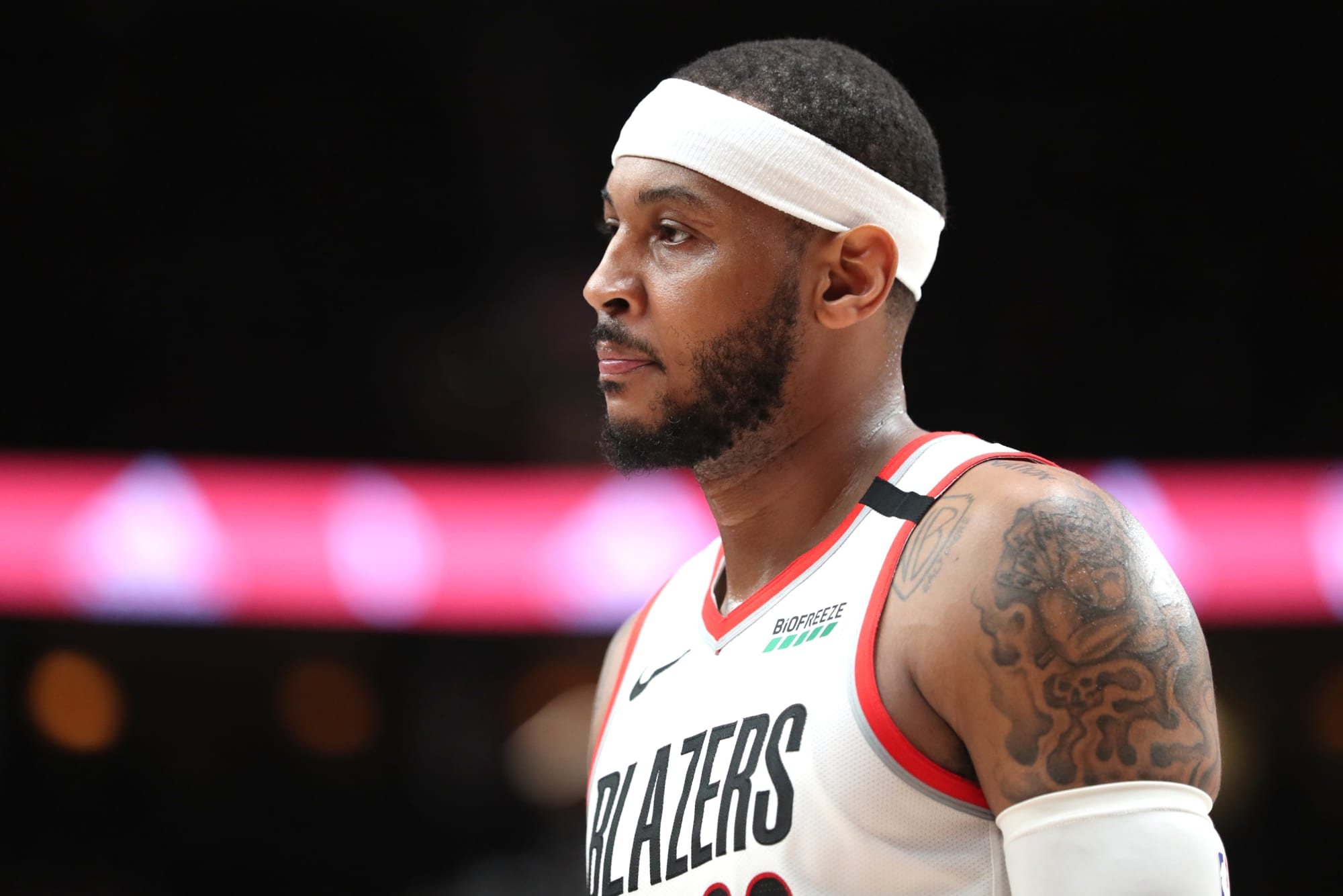Carmelo Anthony: 'Trump has declared war on American people'