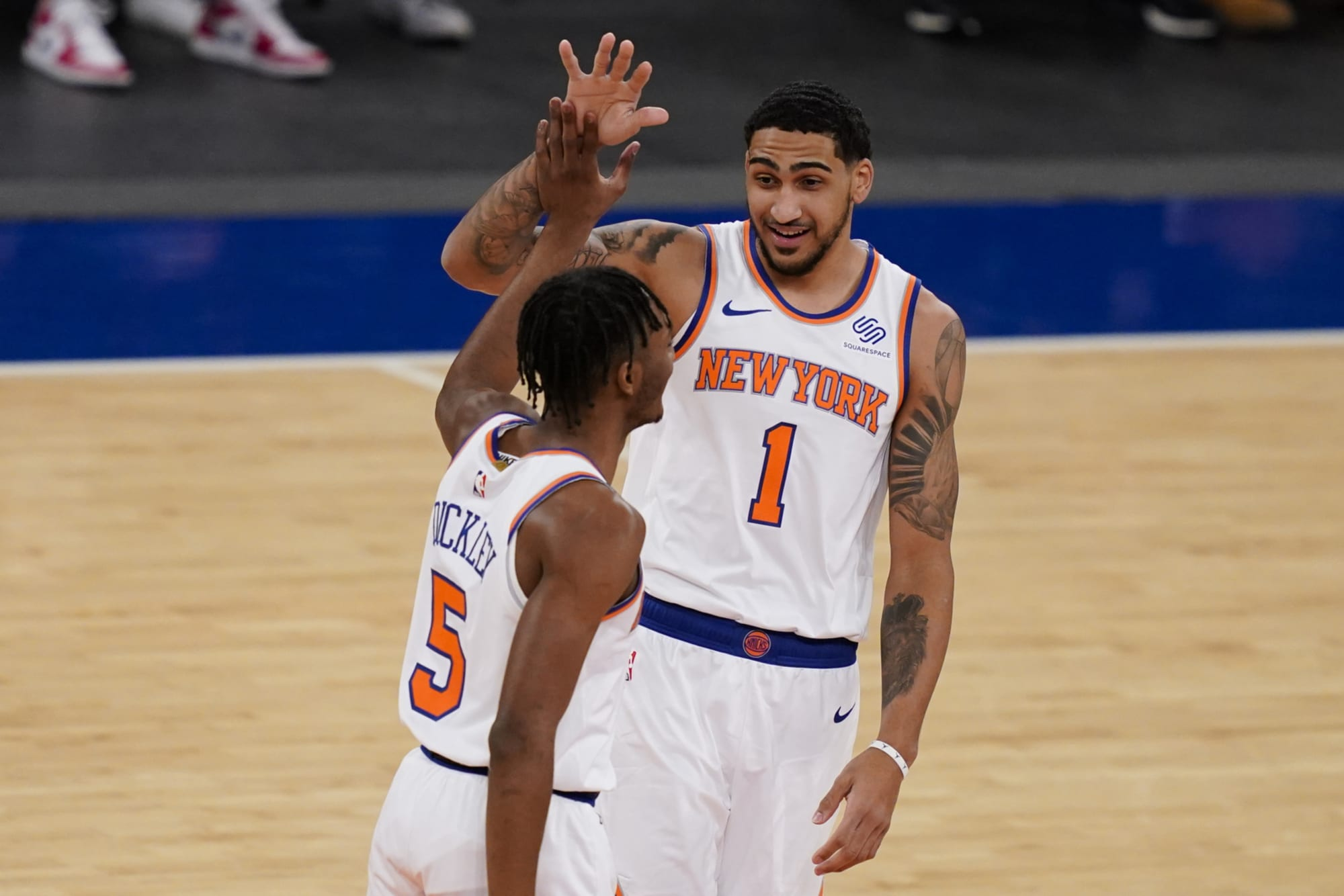 """The New York Knicks FINALLY have their """"Young Core"""""""