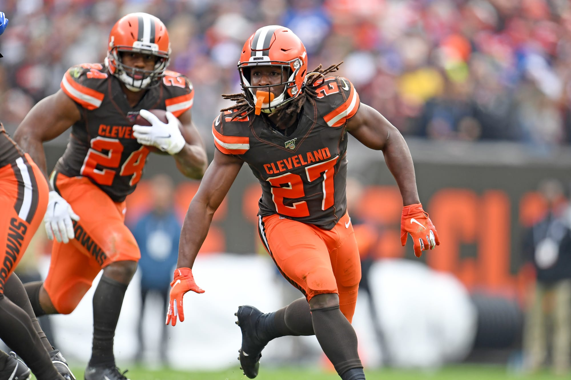 Why Nick Chubb and Kareem Hunt are the best RB duo in the NFL
