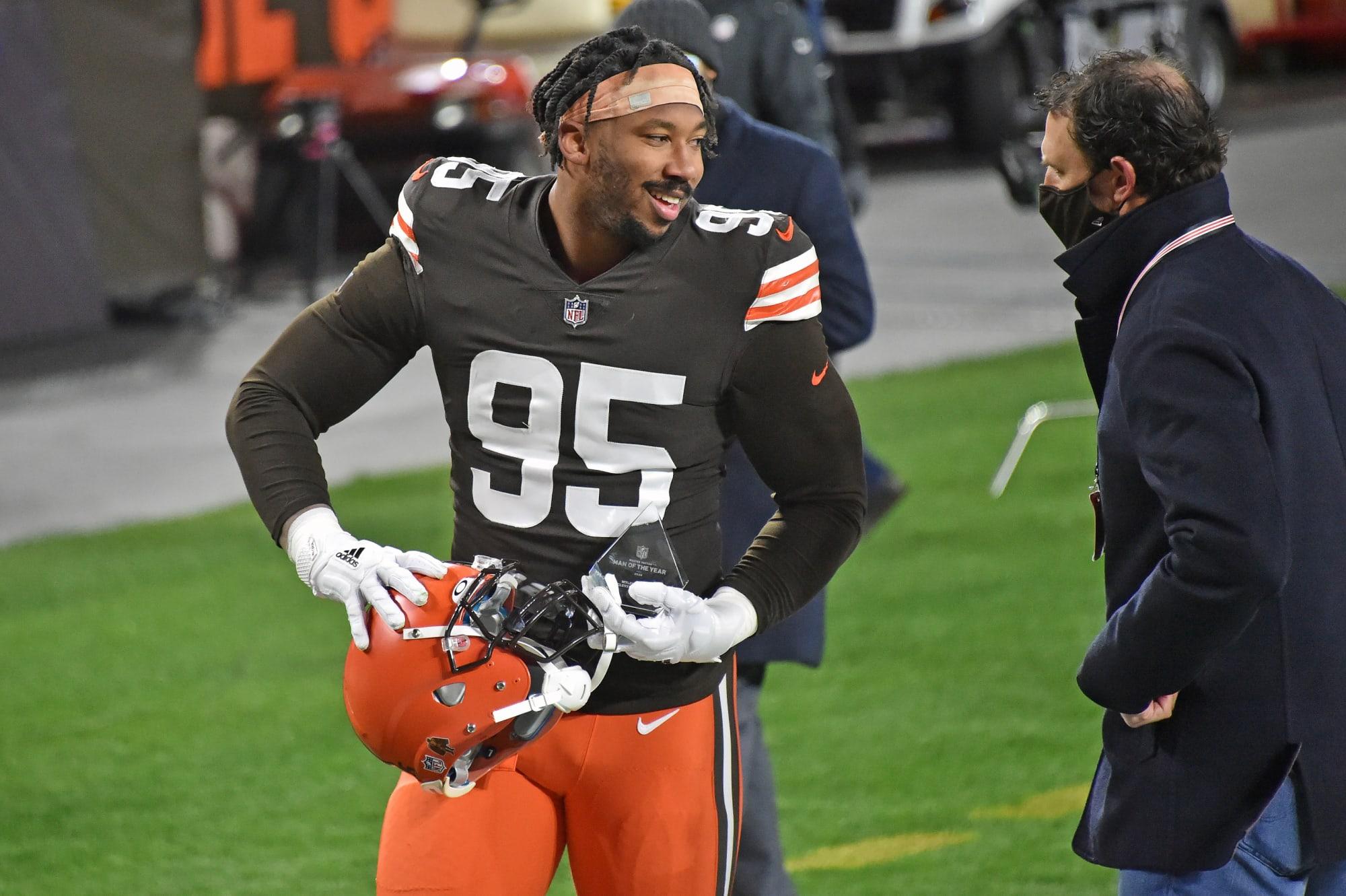 Cleveland Browns Should Myles Garrett retire   from basketball