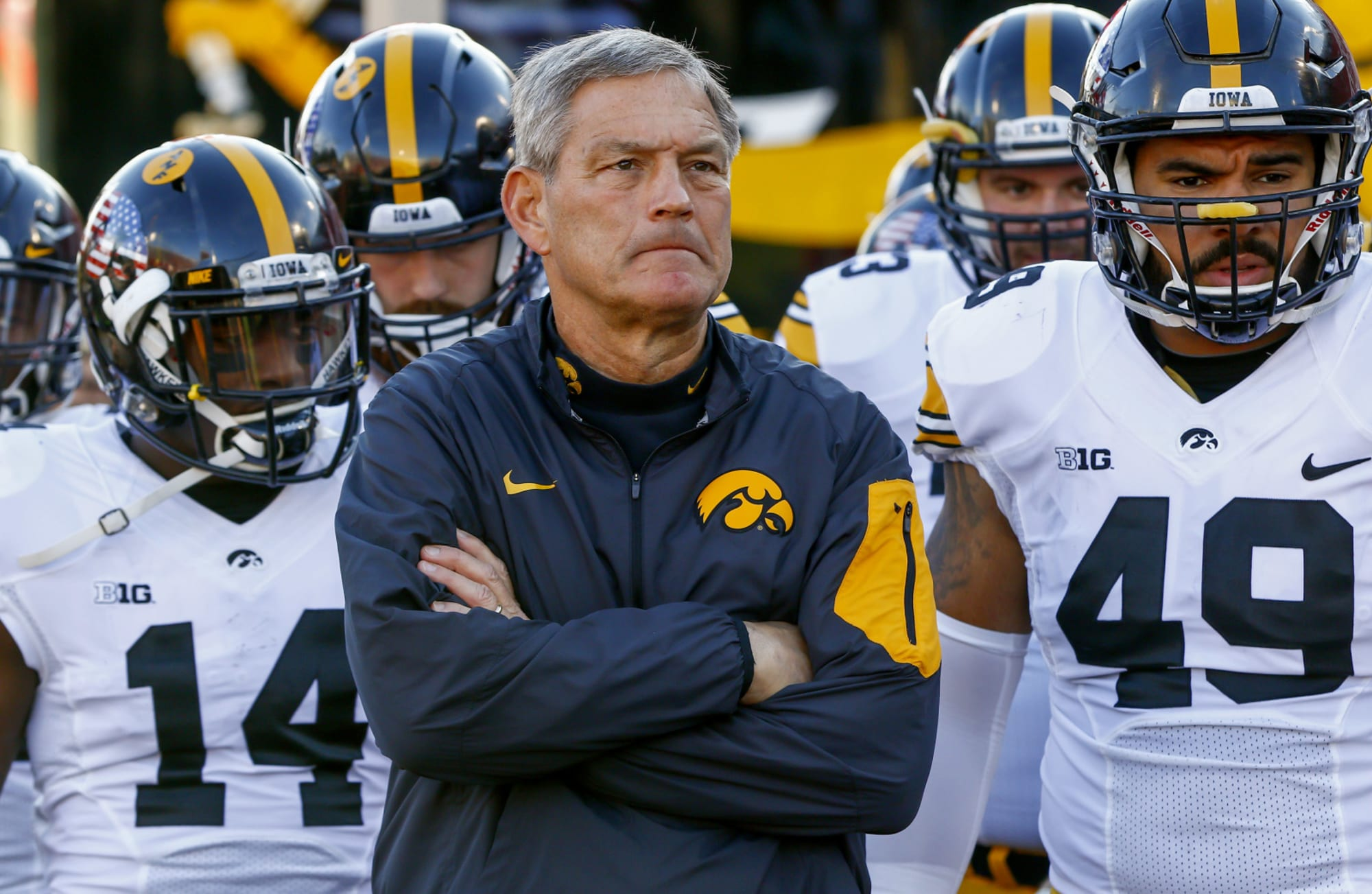 Iowa football: Kirk Ferentz disrespected in coach rankings